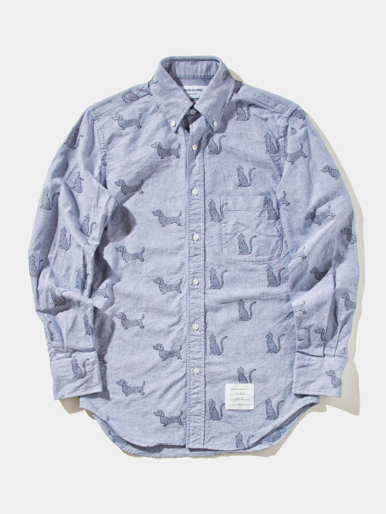 Classic Long Sleeve Oxford B.D. Shirt (Point Collar/FUNMIX)