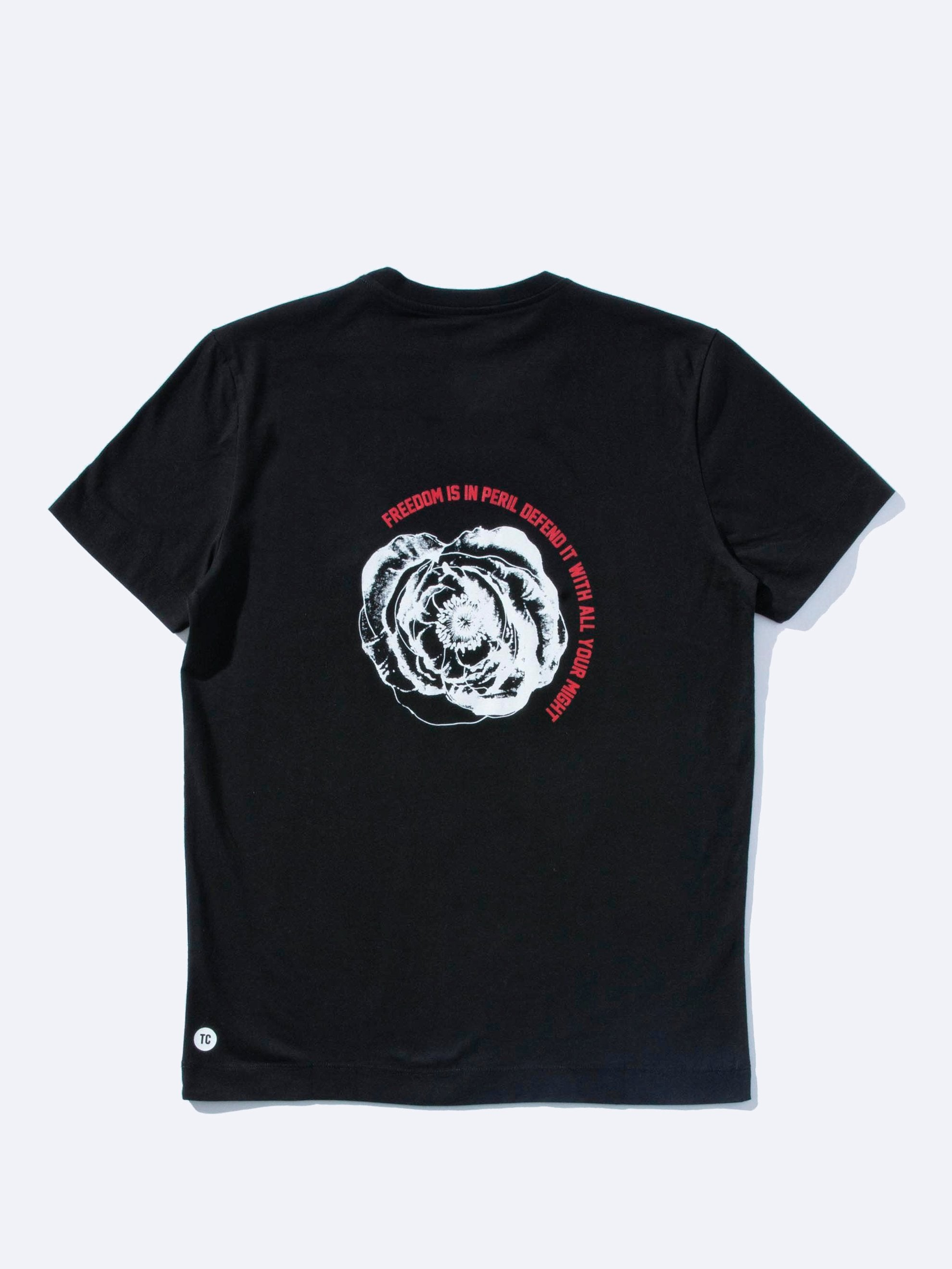 Black Poppy T-Shirt 1