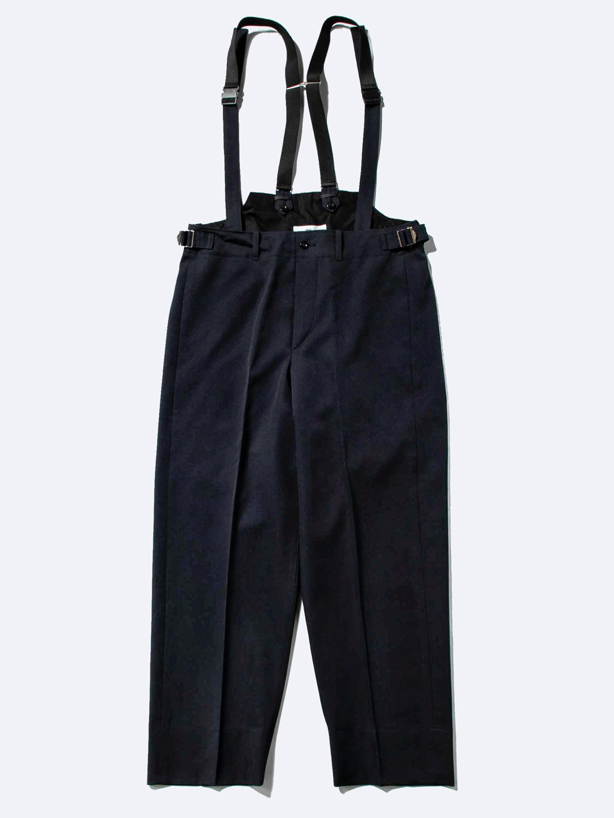 Navy Suspender Pants 1