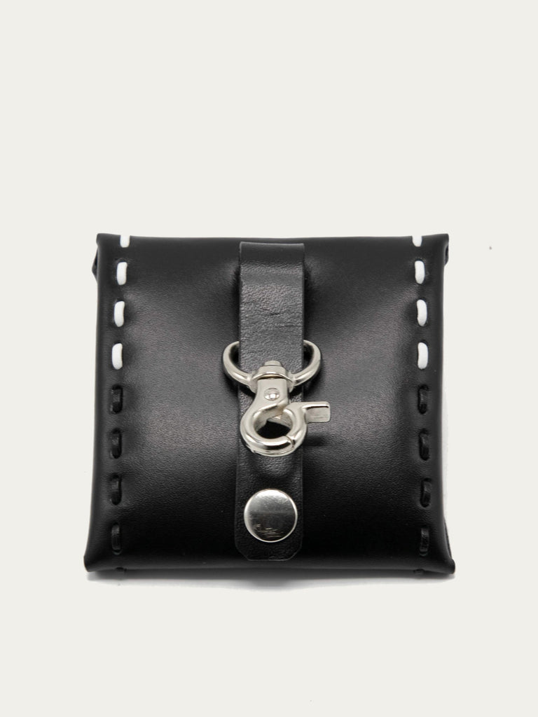 Metal Square Coin Case