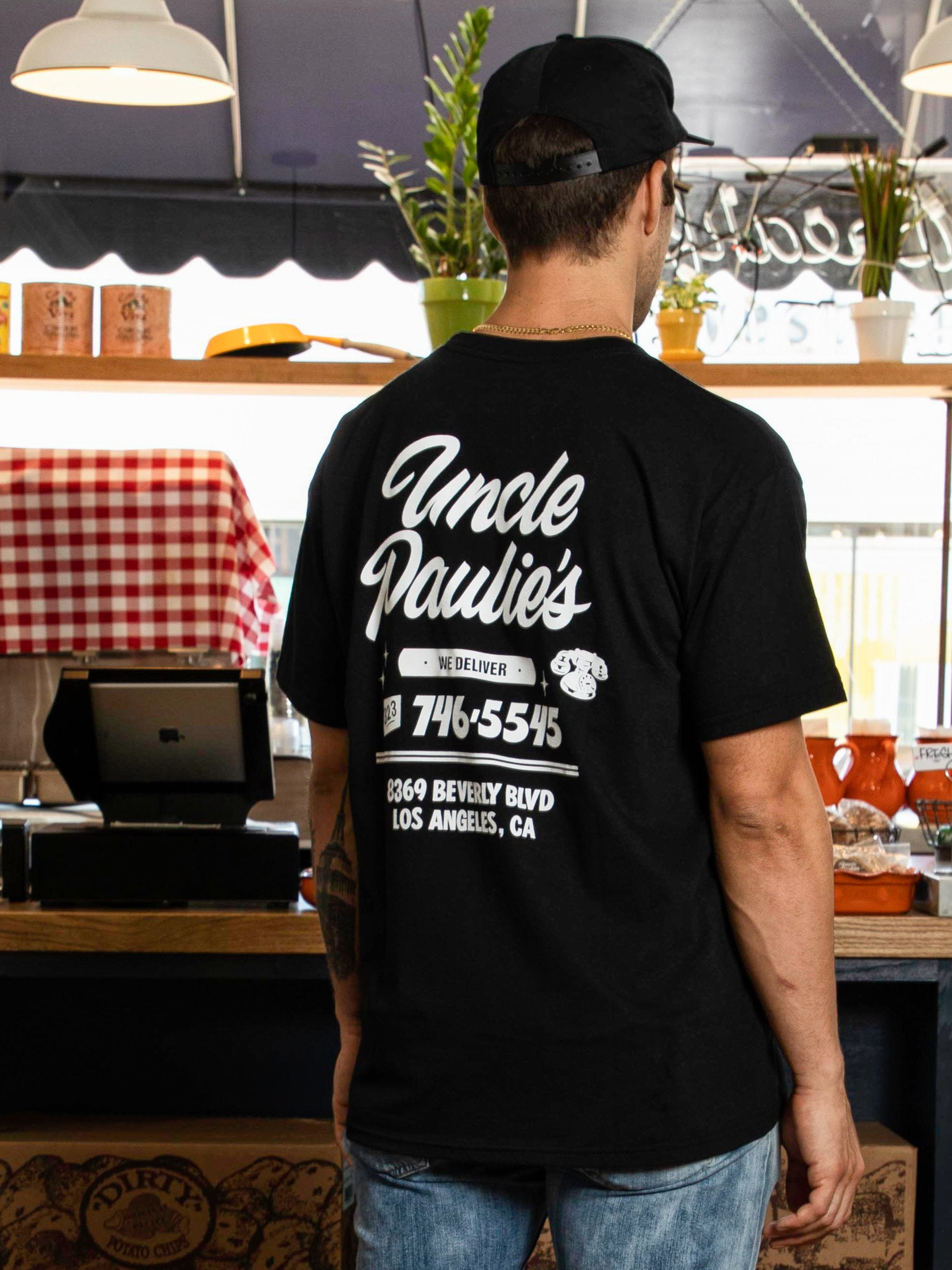 Buy Uncle Paulie's Staff Pocket S/S T-Shirt Online at UNION LOS ANGELES