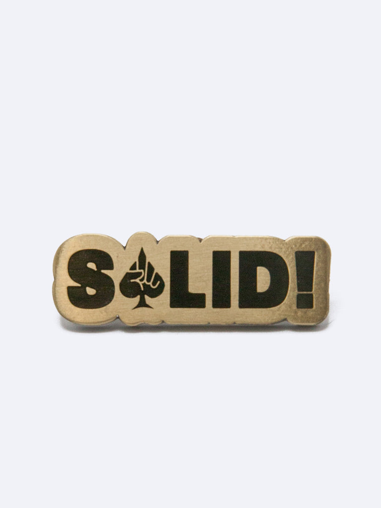 Solid Lapel Pin