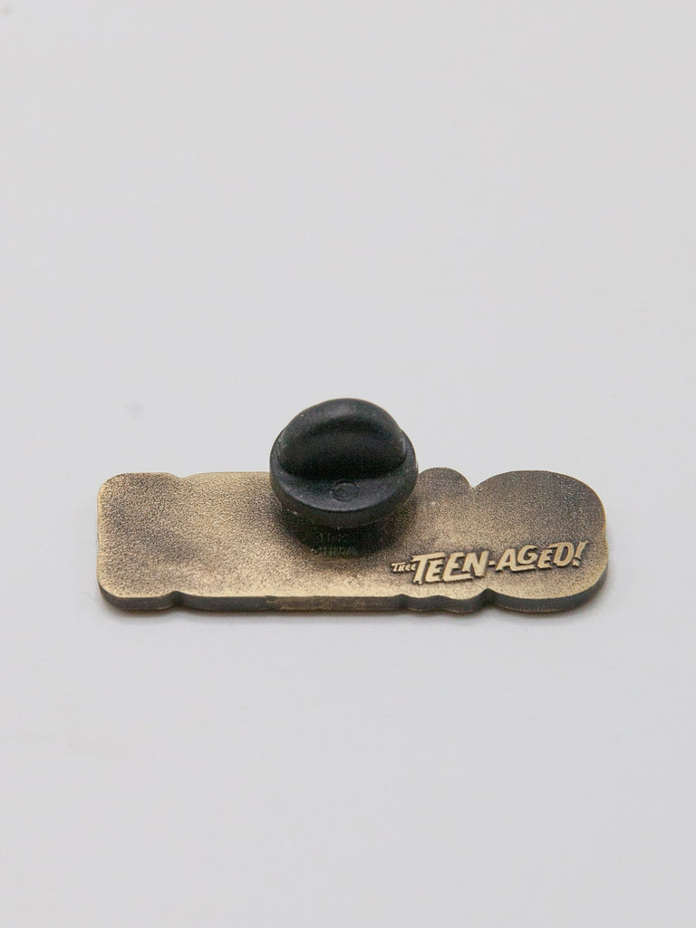 Antique Brass Solid Lapel Pin 2961135640585