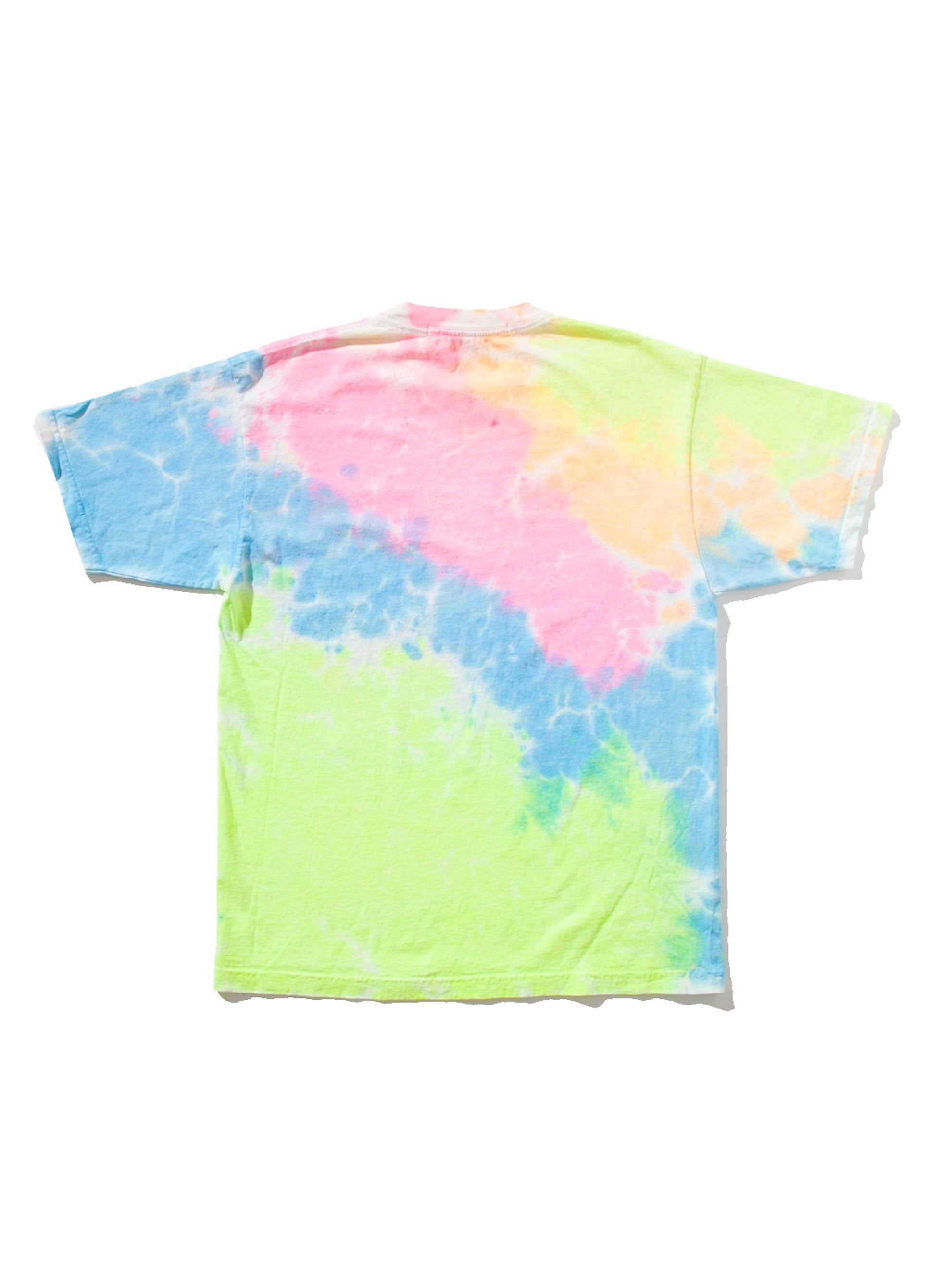 3 Tie Dye Staff T-Shirt (Basic) 7
