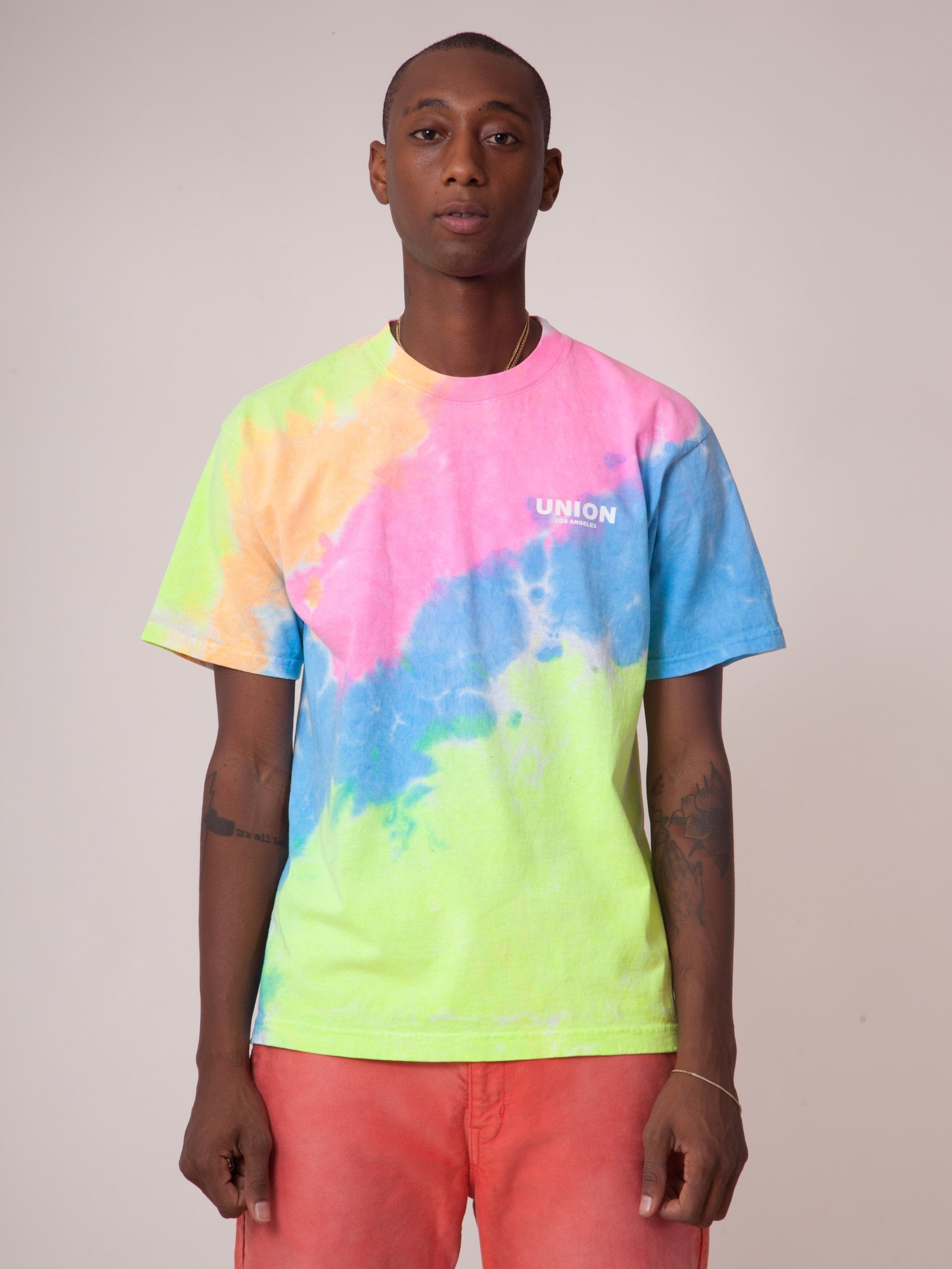 2 Tie Dye Staff T-Shirt (Basic) 2