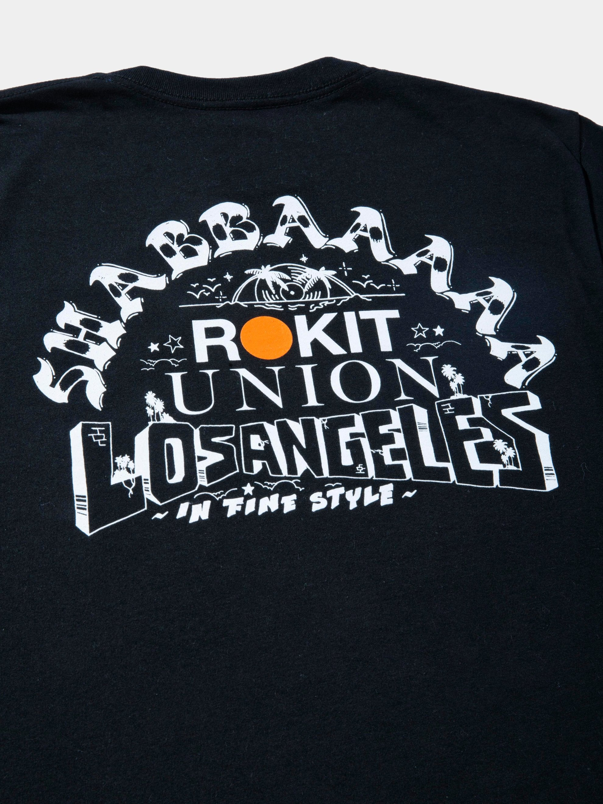 Black SHABBA x ROKIT x UNION T-Shirt 2
