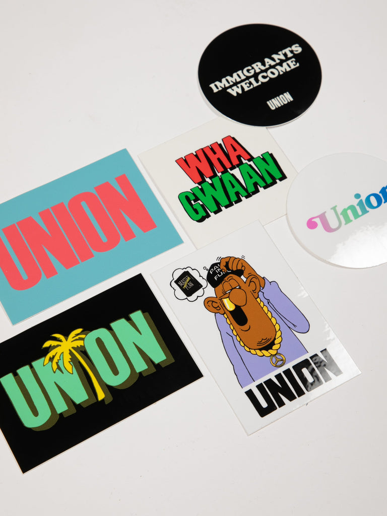 Union Sticker Pack14932683554893