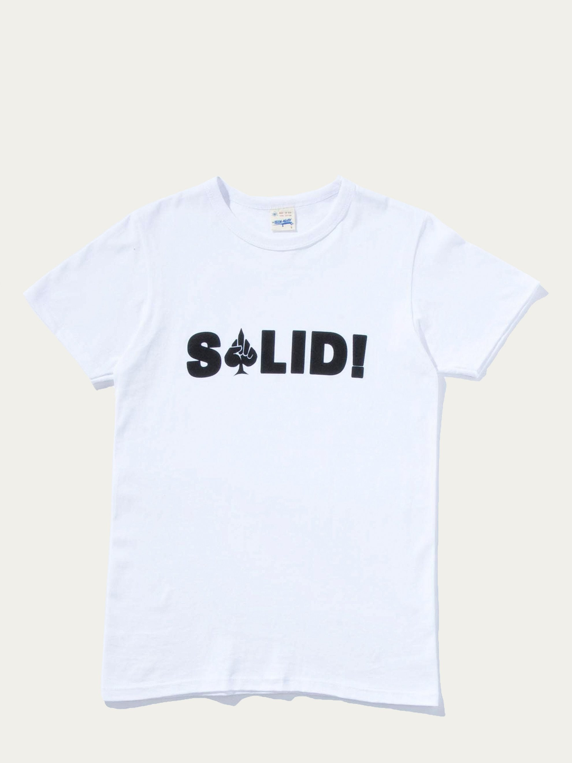 White Solid Tee 1