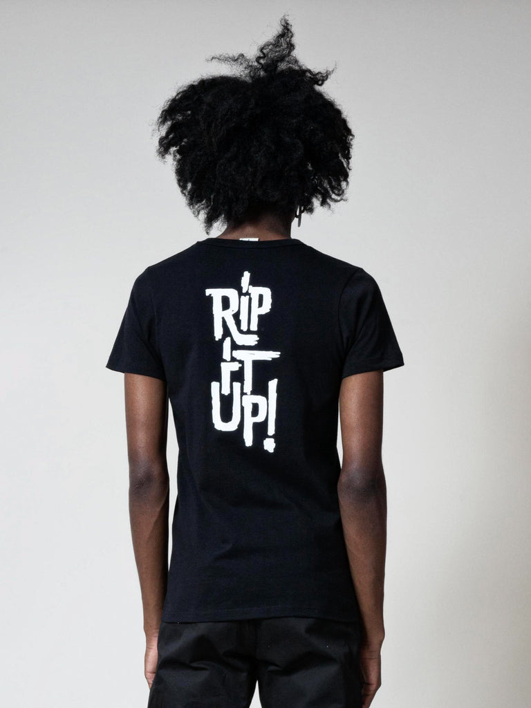 Black Rip It Up Tee 613572025385037