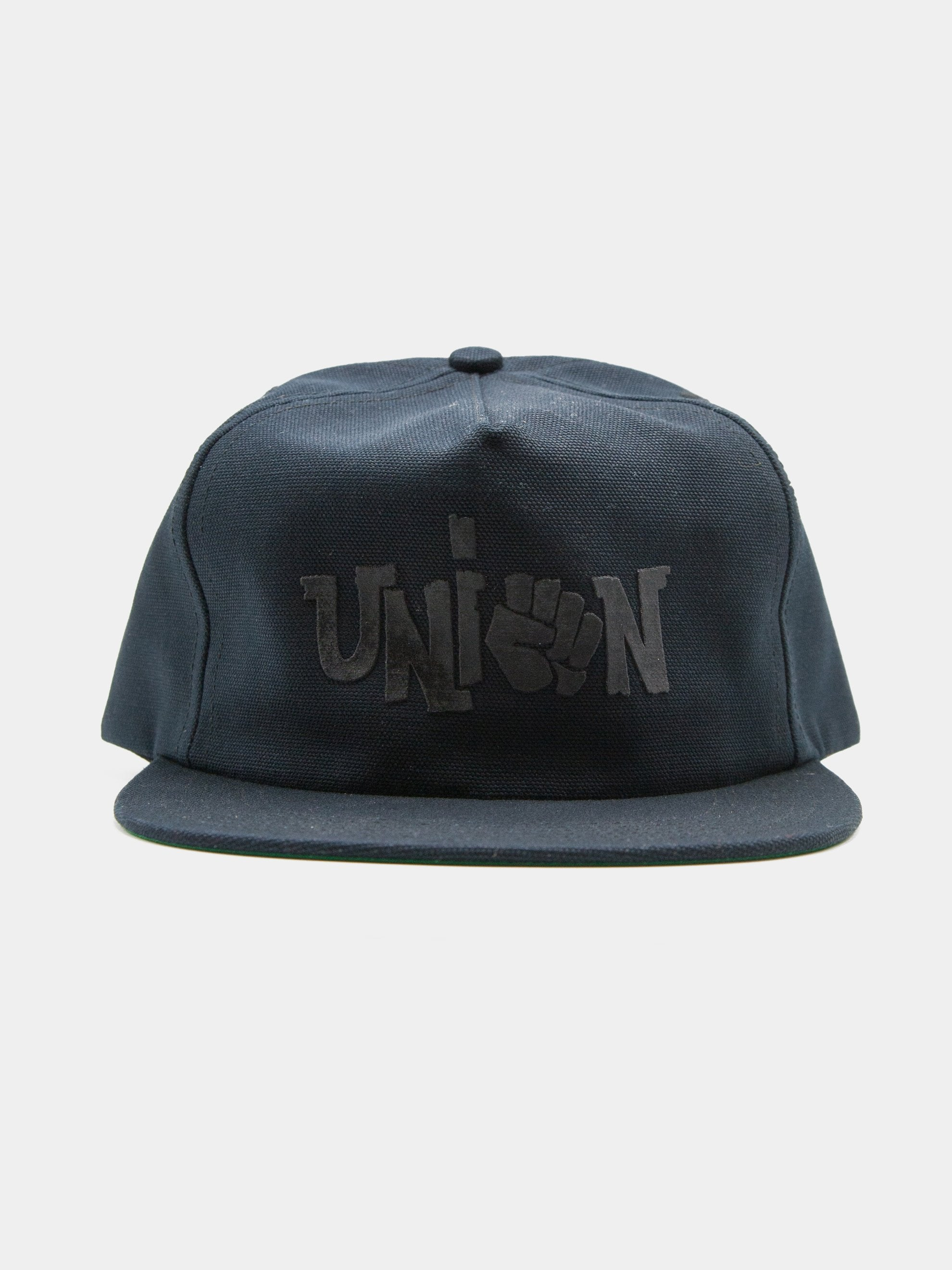 Black Union 5 Panel Unstructured Trucker 1