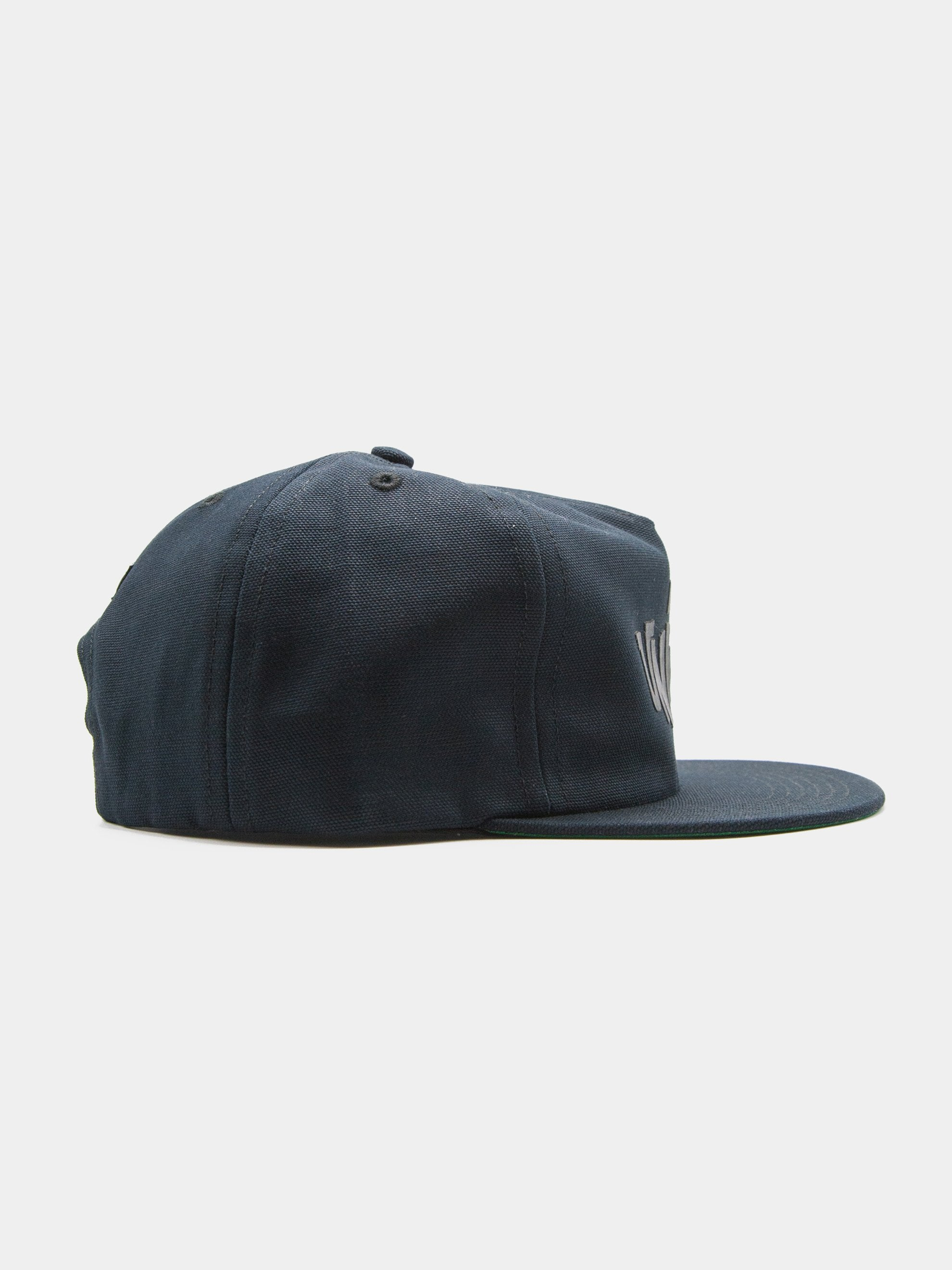 Black Union 5 Panel Unstructured Trucker 2