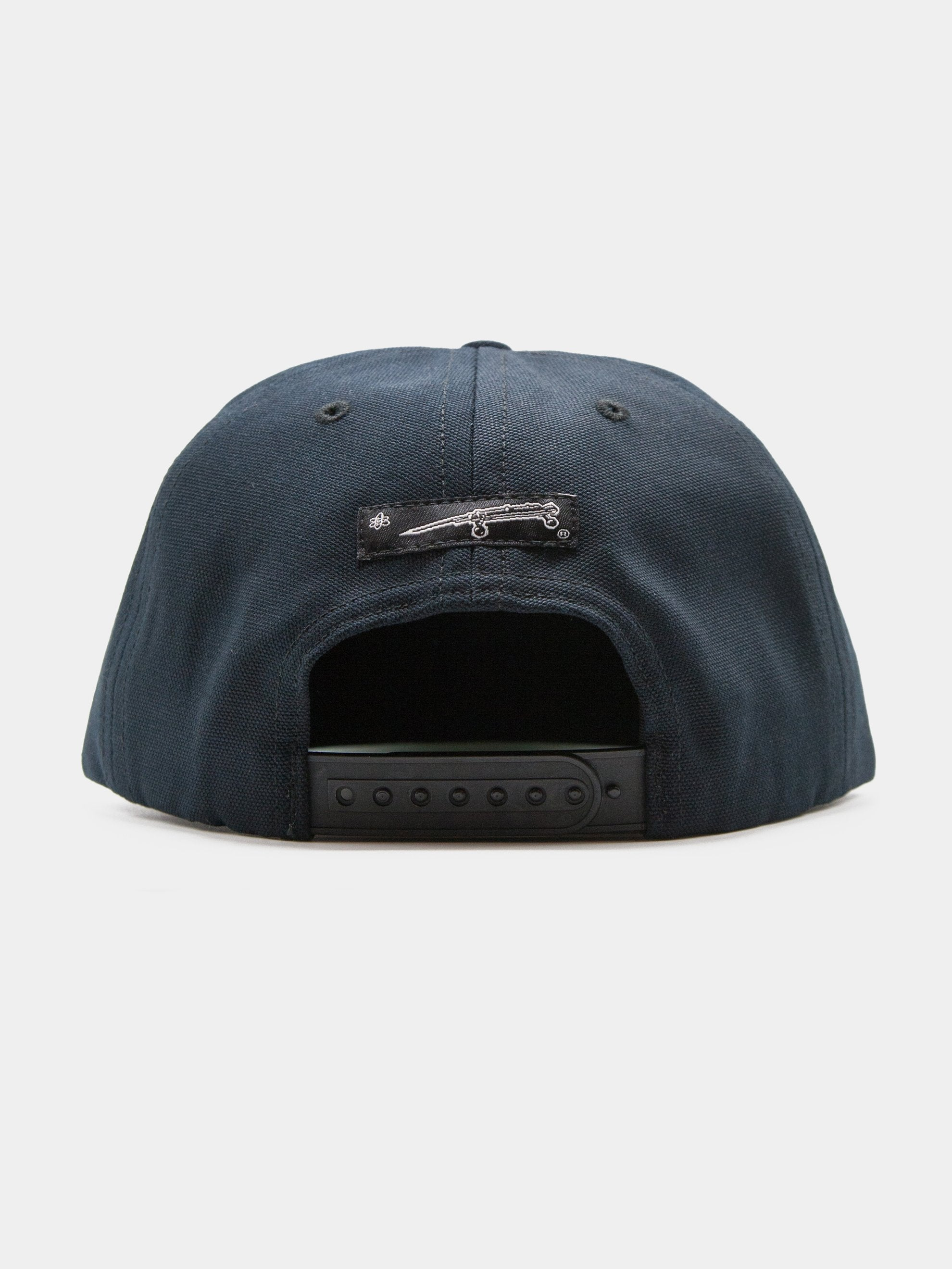 Black Union 5 Panel Unstructured Trucker 3