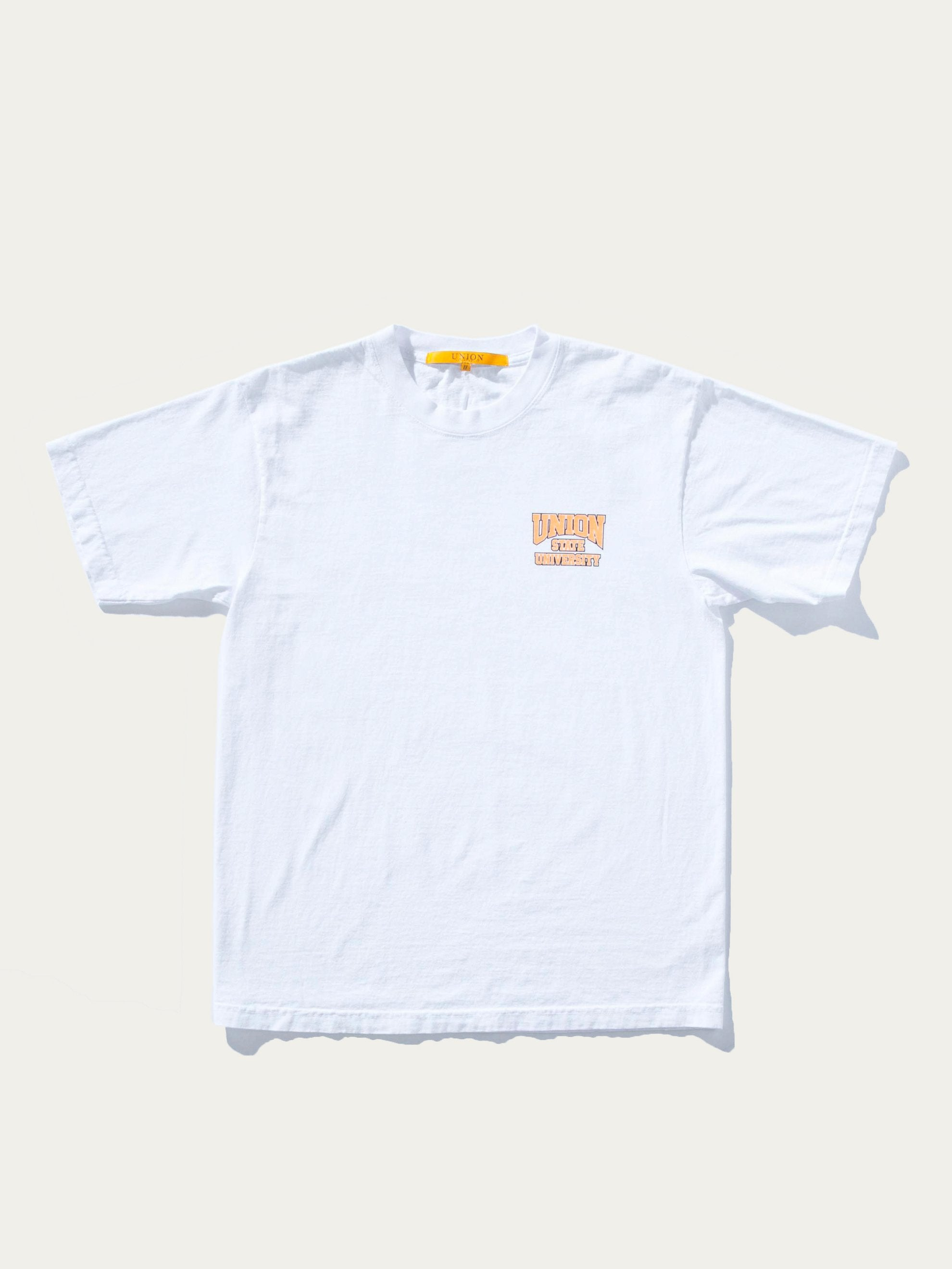 White Union State T-Shirt 1