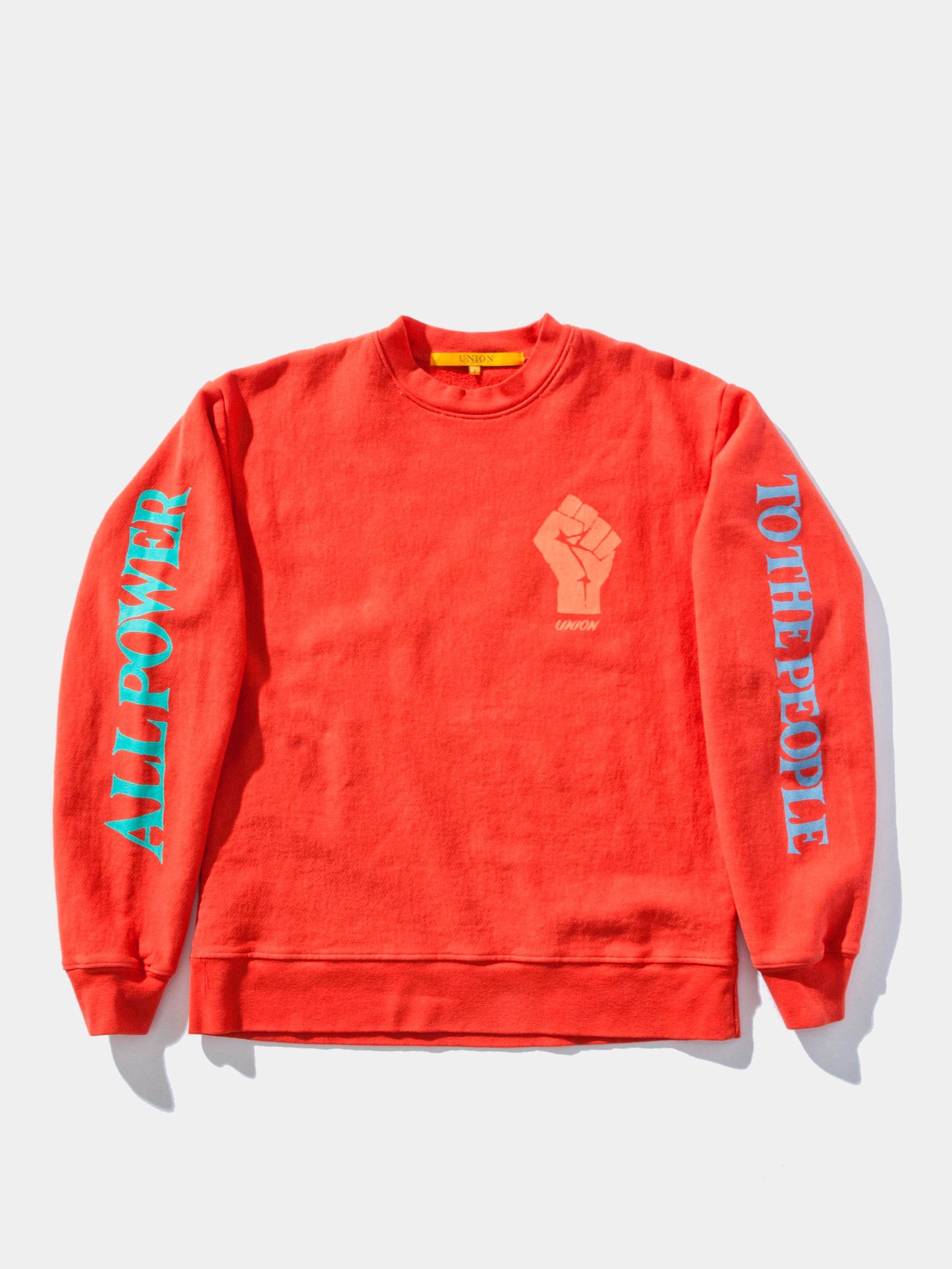 Power To The People Crewneck