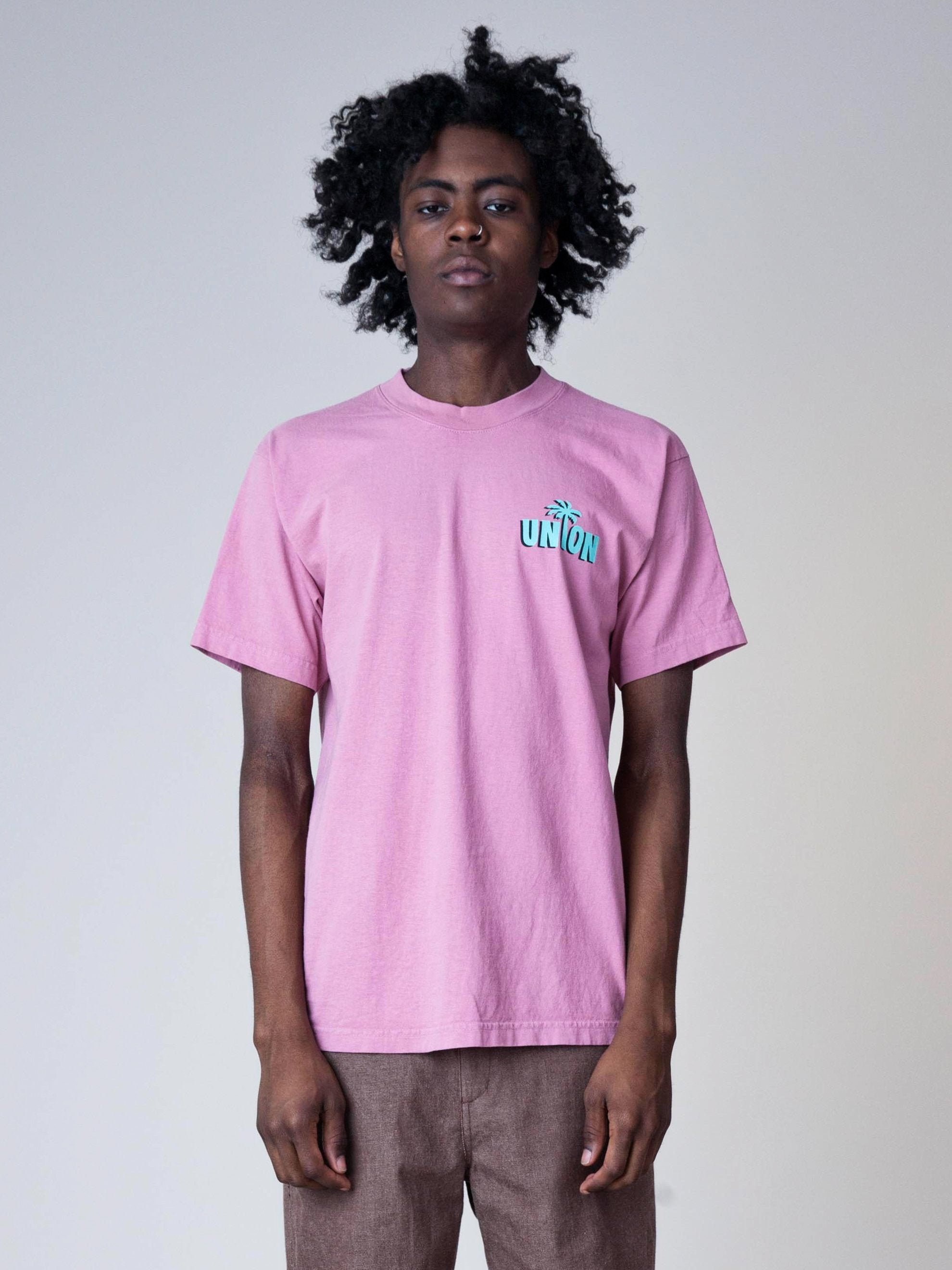 Dusty Pink Strictly Reggae T-Shirt 2
