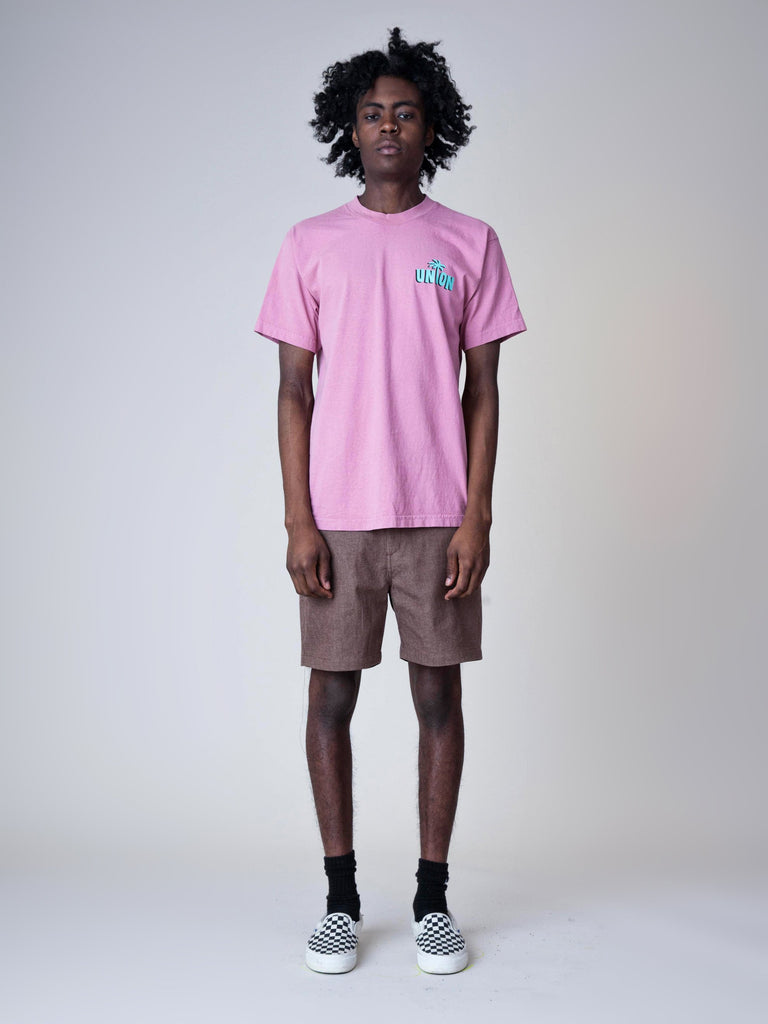 Dusty Pink Strictly Reggae T-Shirt 33644646228045