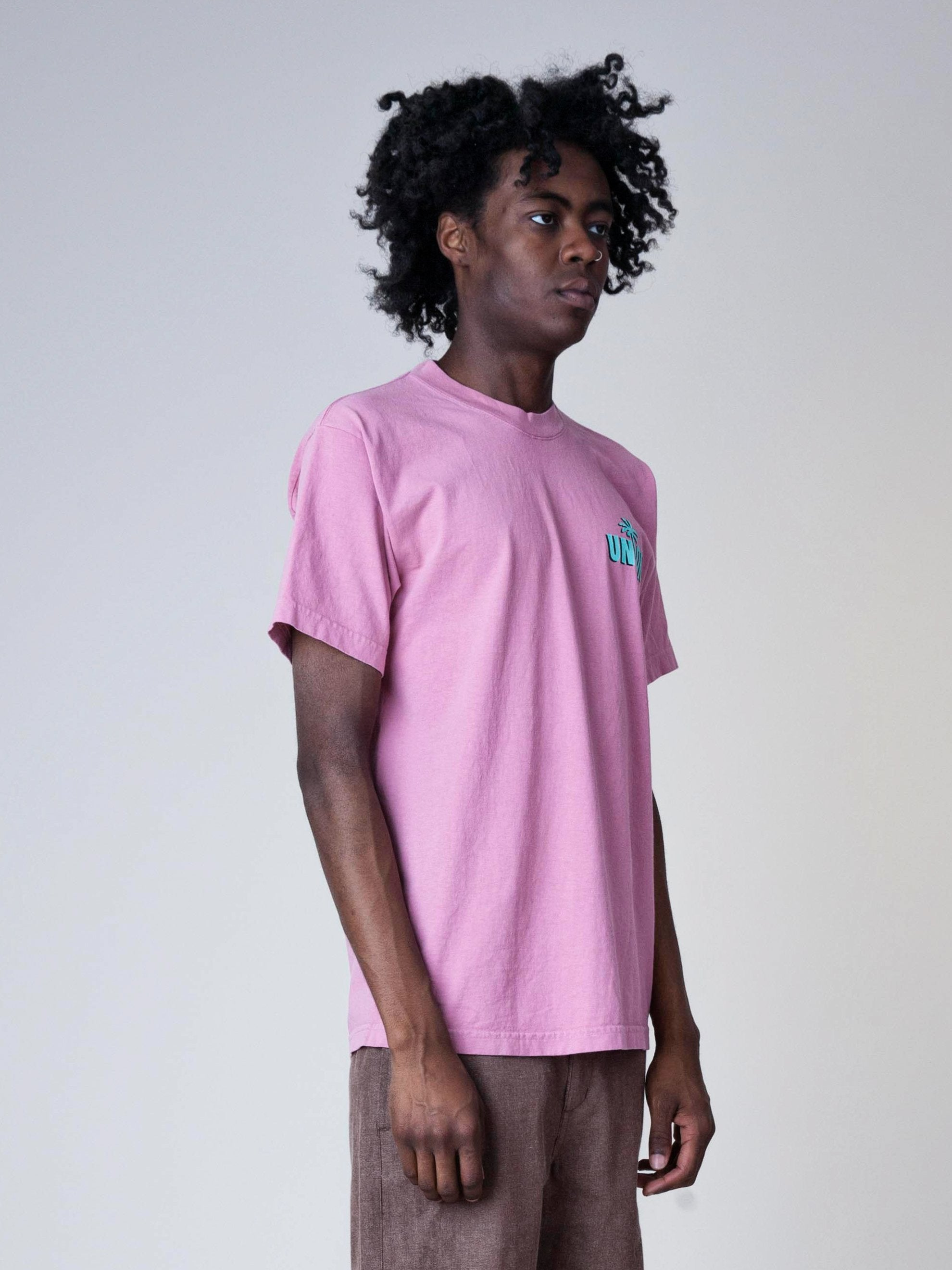 Dusty Pink Strictly Reggae T-Shirt 4