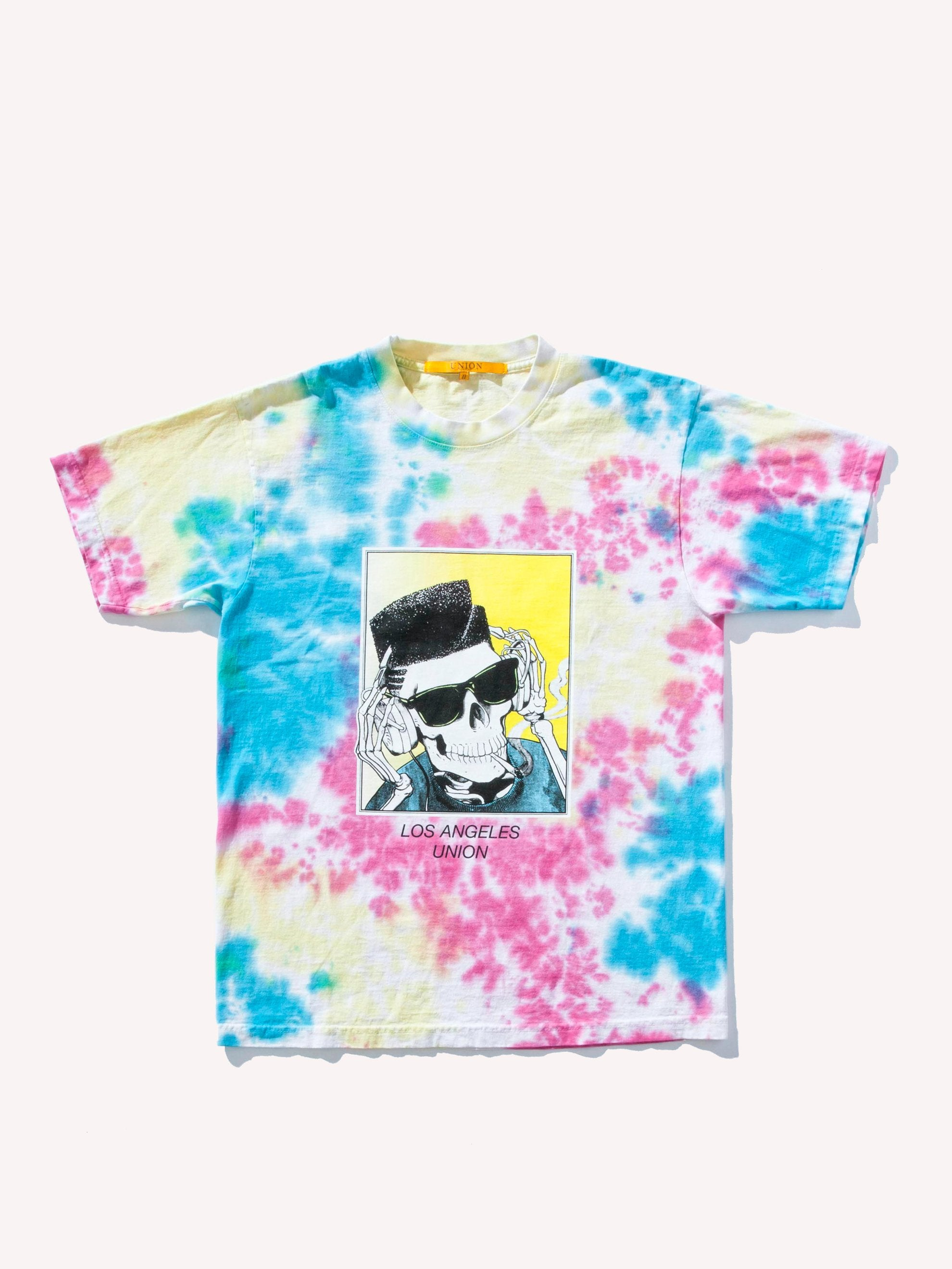 Tie-Dye High Top Dead T-Shirt 1