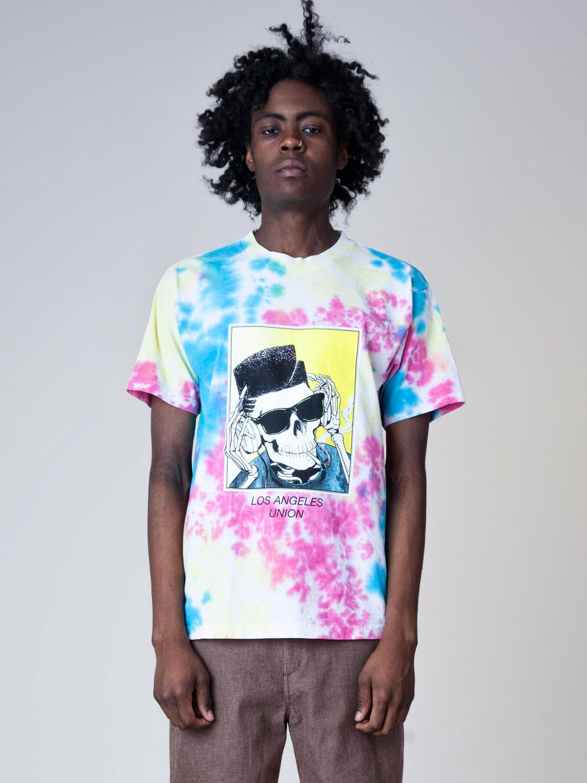 Tie-Dye High Top Dead T-Shirt 2