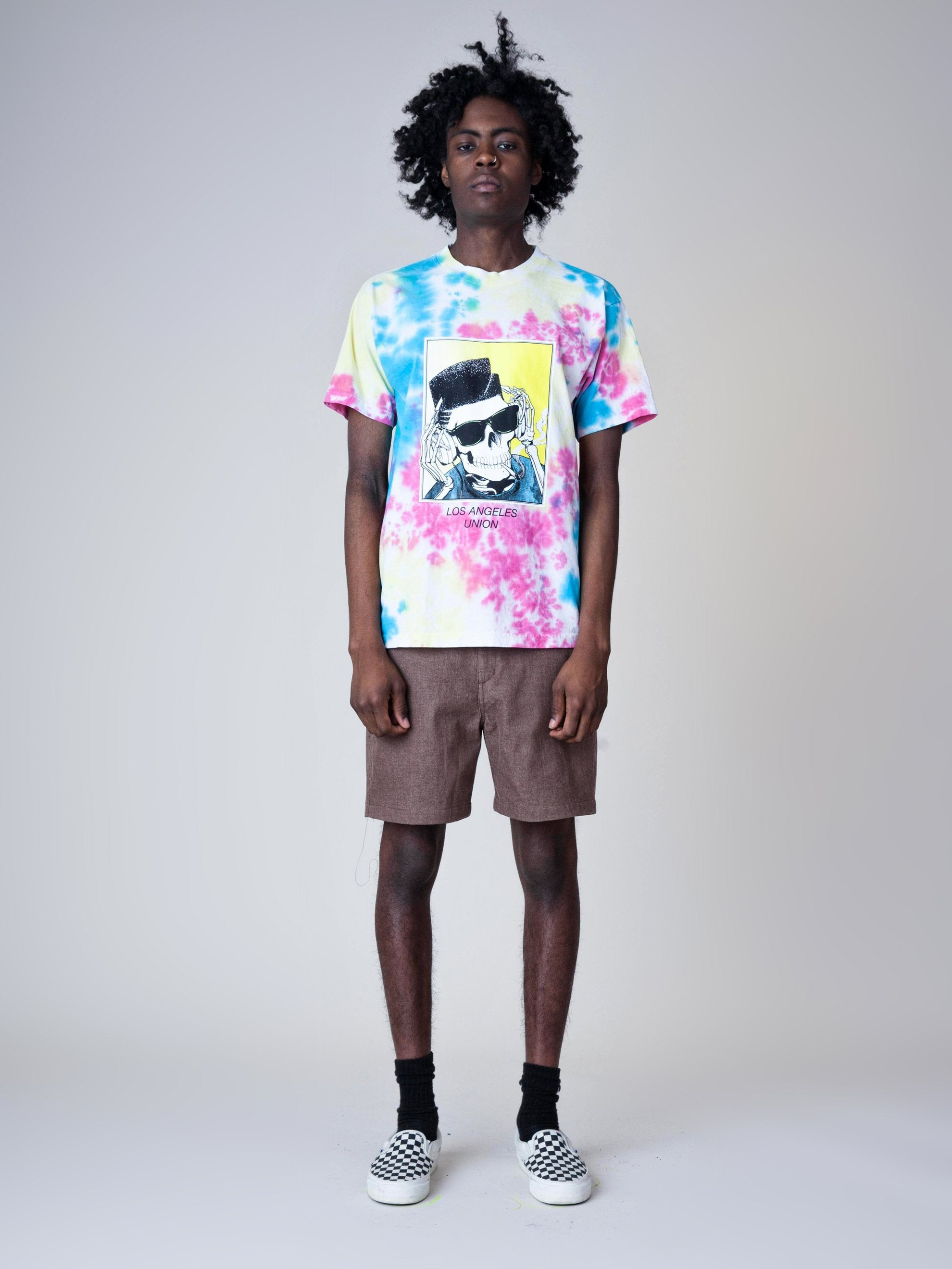 Tie-Dye High Top Dead T-Shirt 3