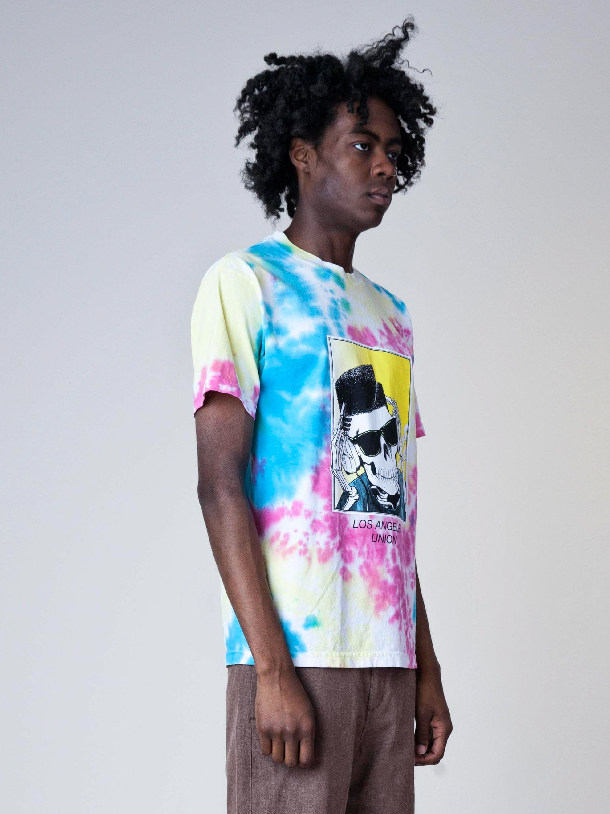 Tie-Dye High Top Dead T-Shirt 4