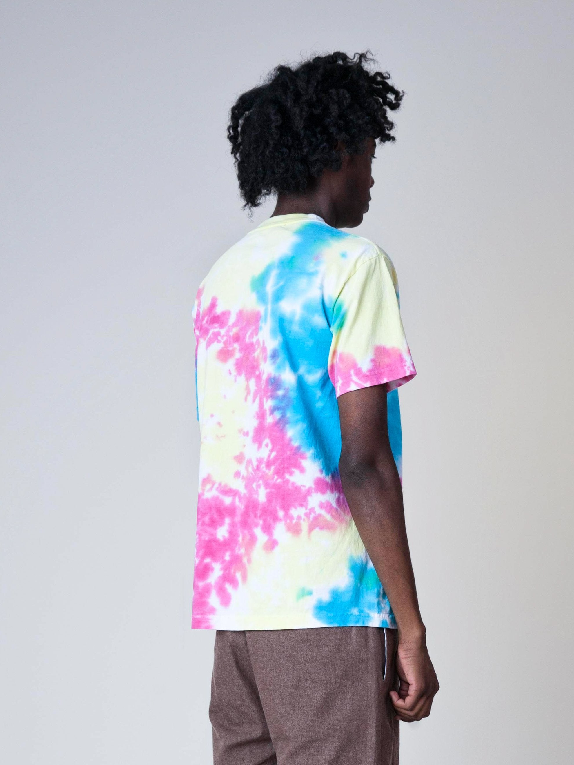 Tie-Dye High Top Dead T-Shirt 5