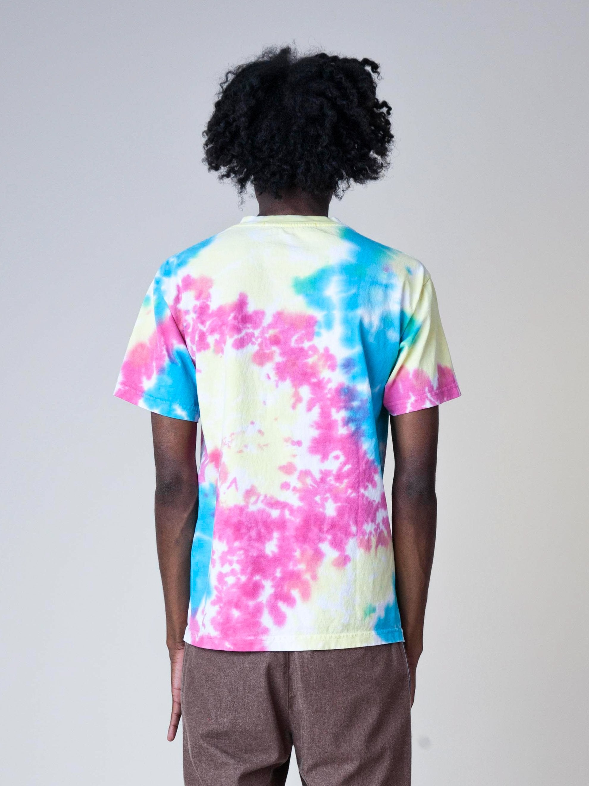 Tie-Dye High Top Dead T-Shirt 6