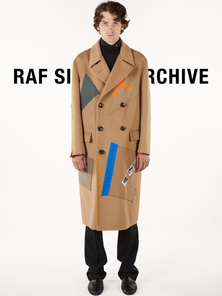 Double-Faced Sterling Coat With Patches