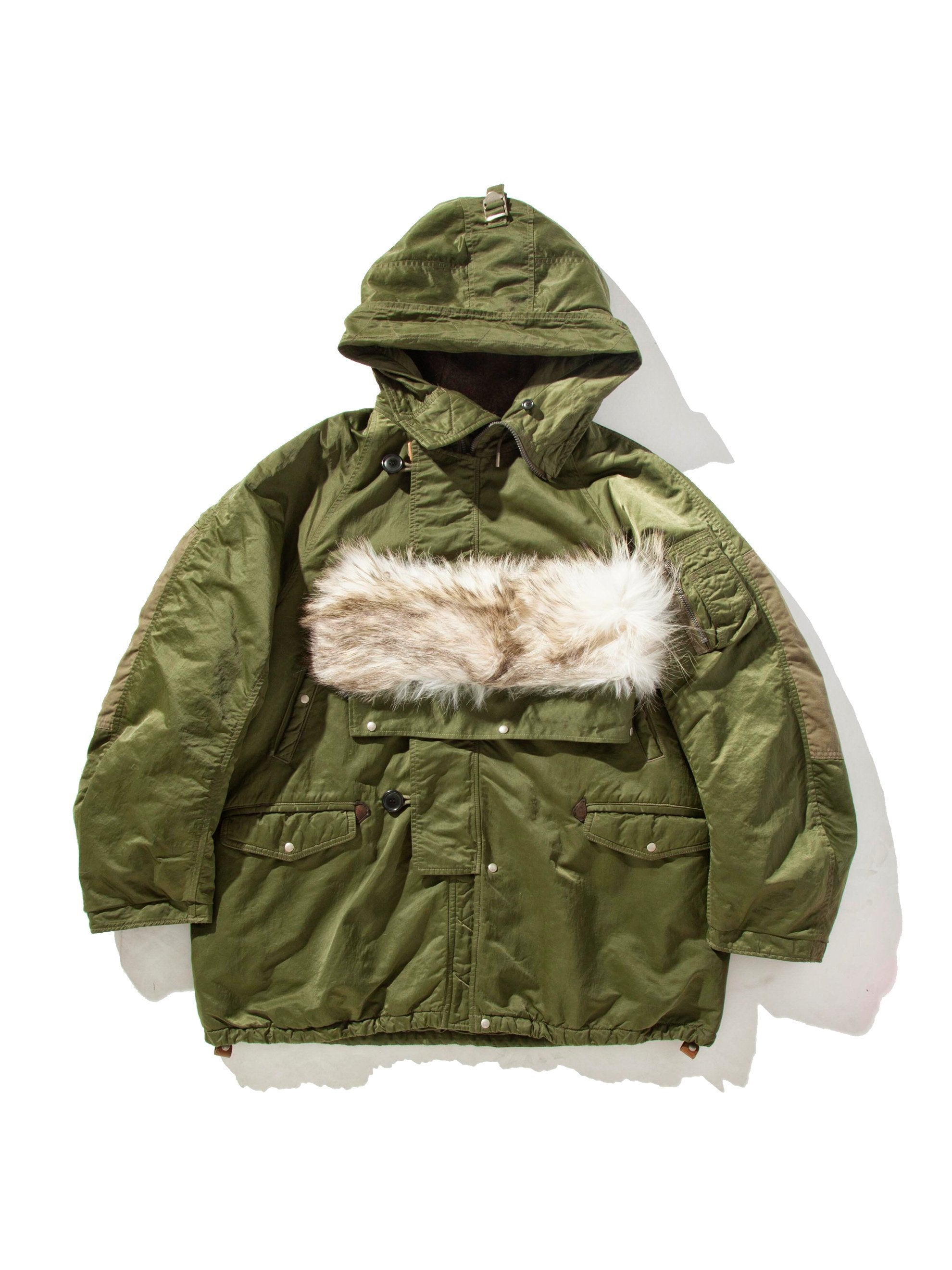 Green Valdez Coat (Wool Pile) 8
