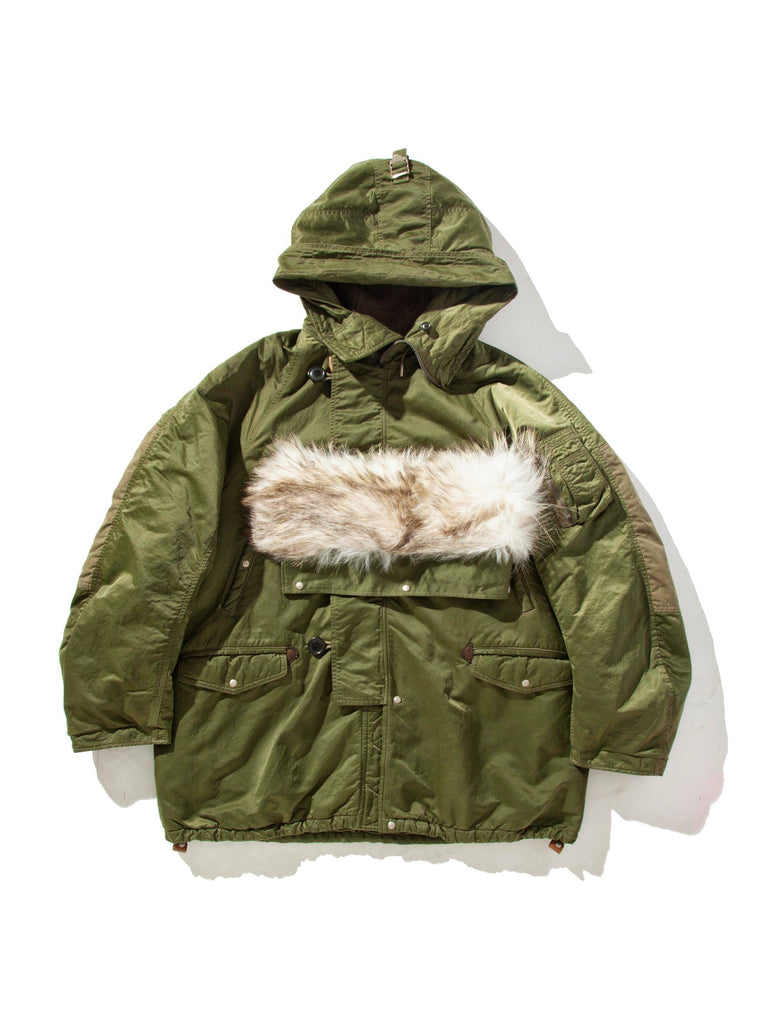 Green Valdez Coat (Wool Pile) 813572120313933