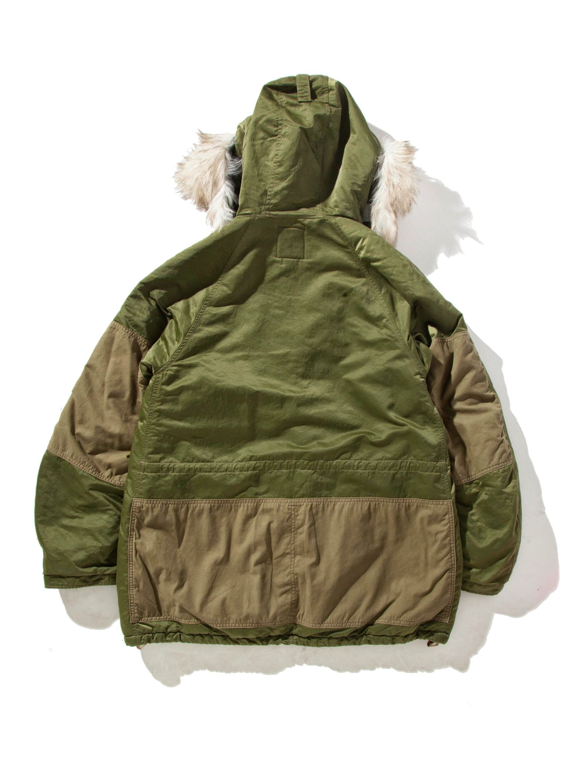 Green Valdez Coat (Wool Pile) 7