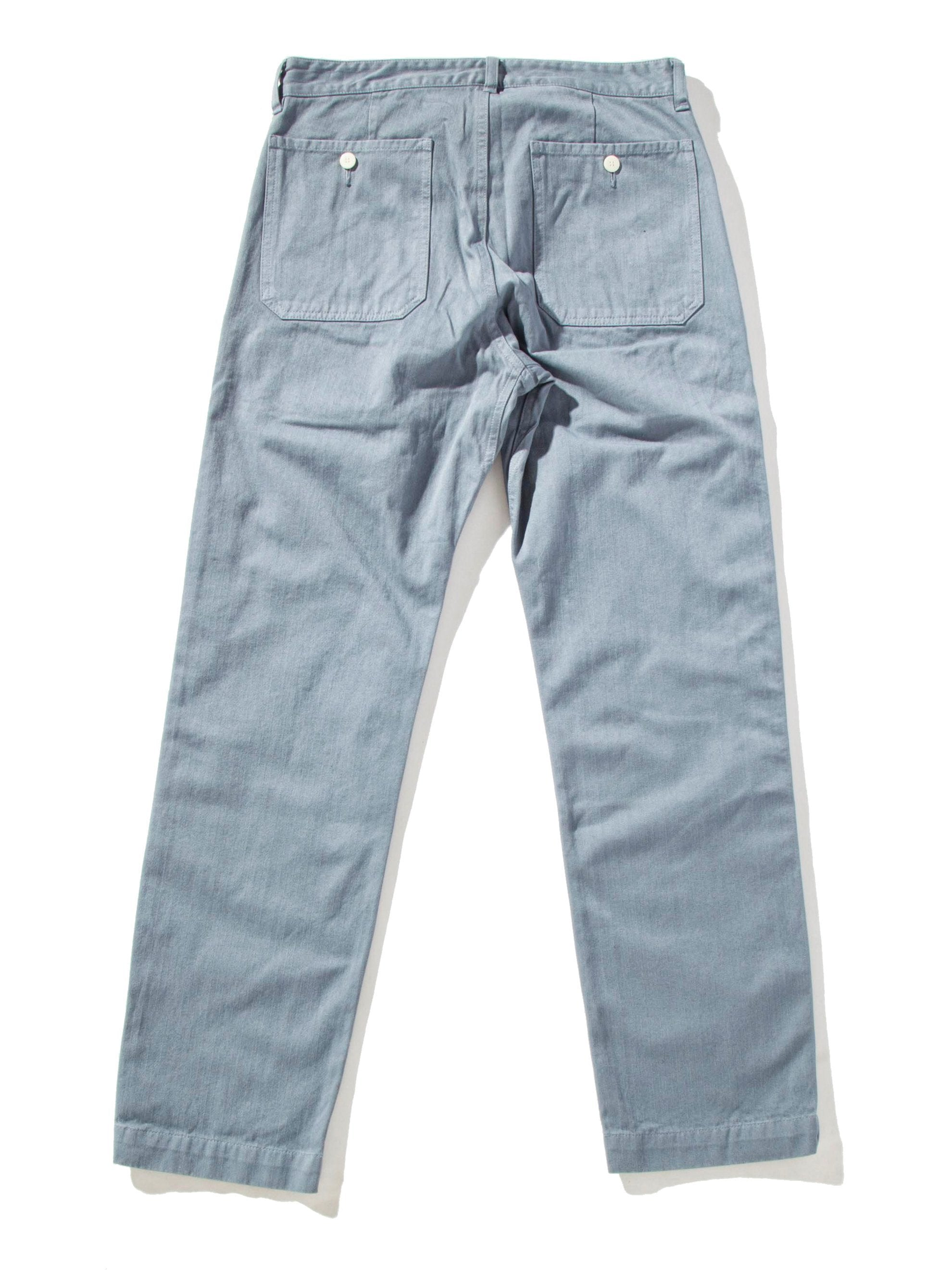 Blue Pastoral Pants Herringbone 15