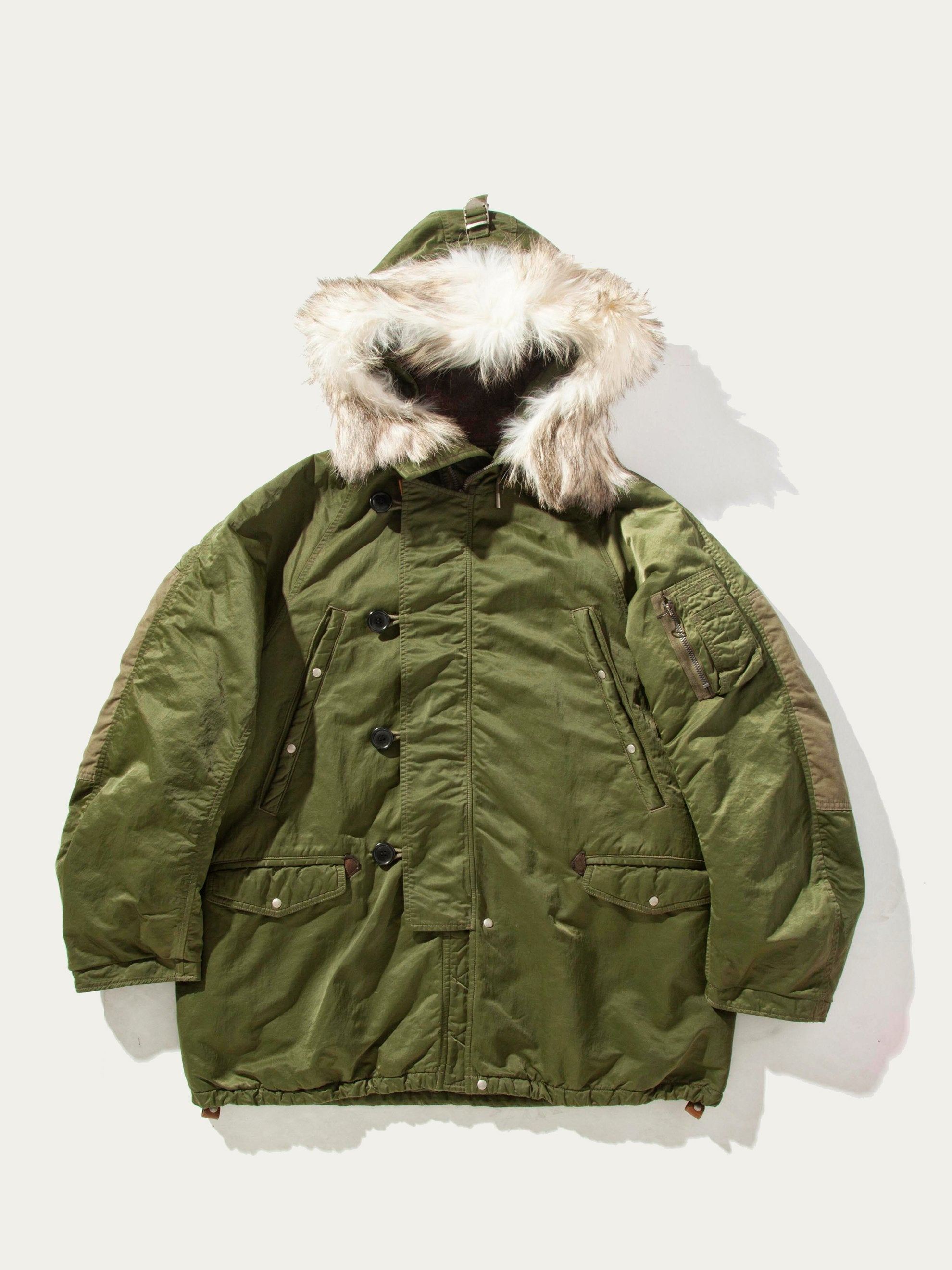 Green Valdez Coat (Wool Pile) 1