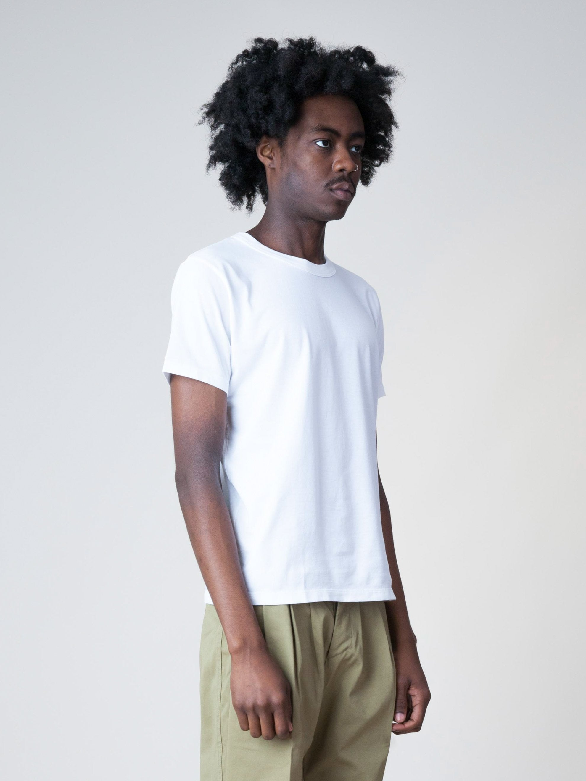 White Sublib Crew 3-Pack S/S (Wide) 3