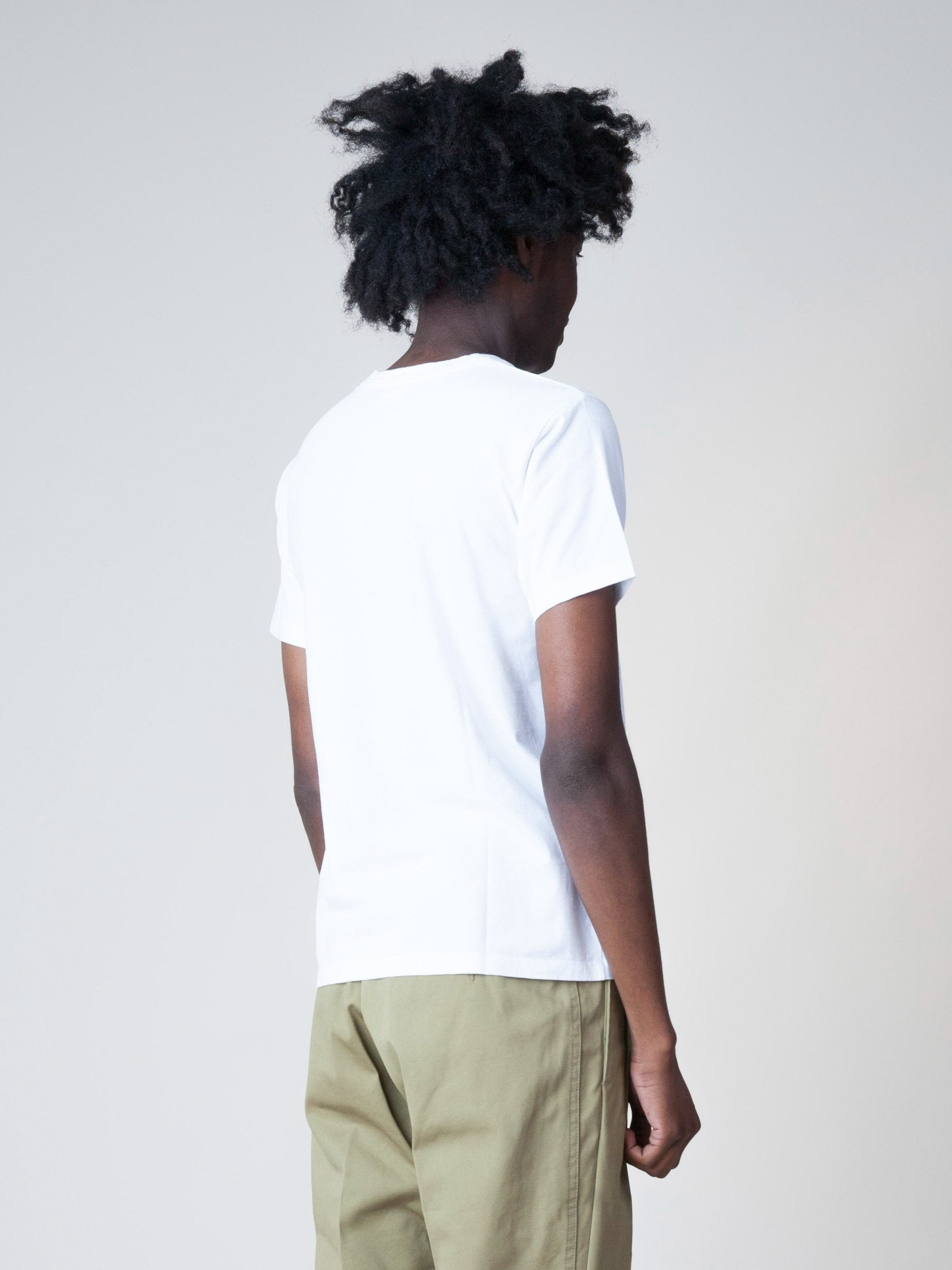 White Sublib Crew 3-Pack S/S (Wide) 4