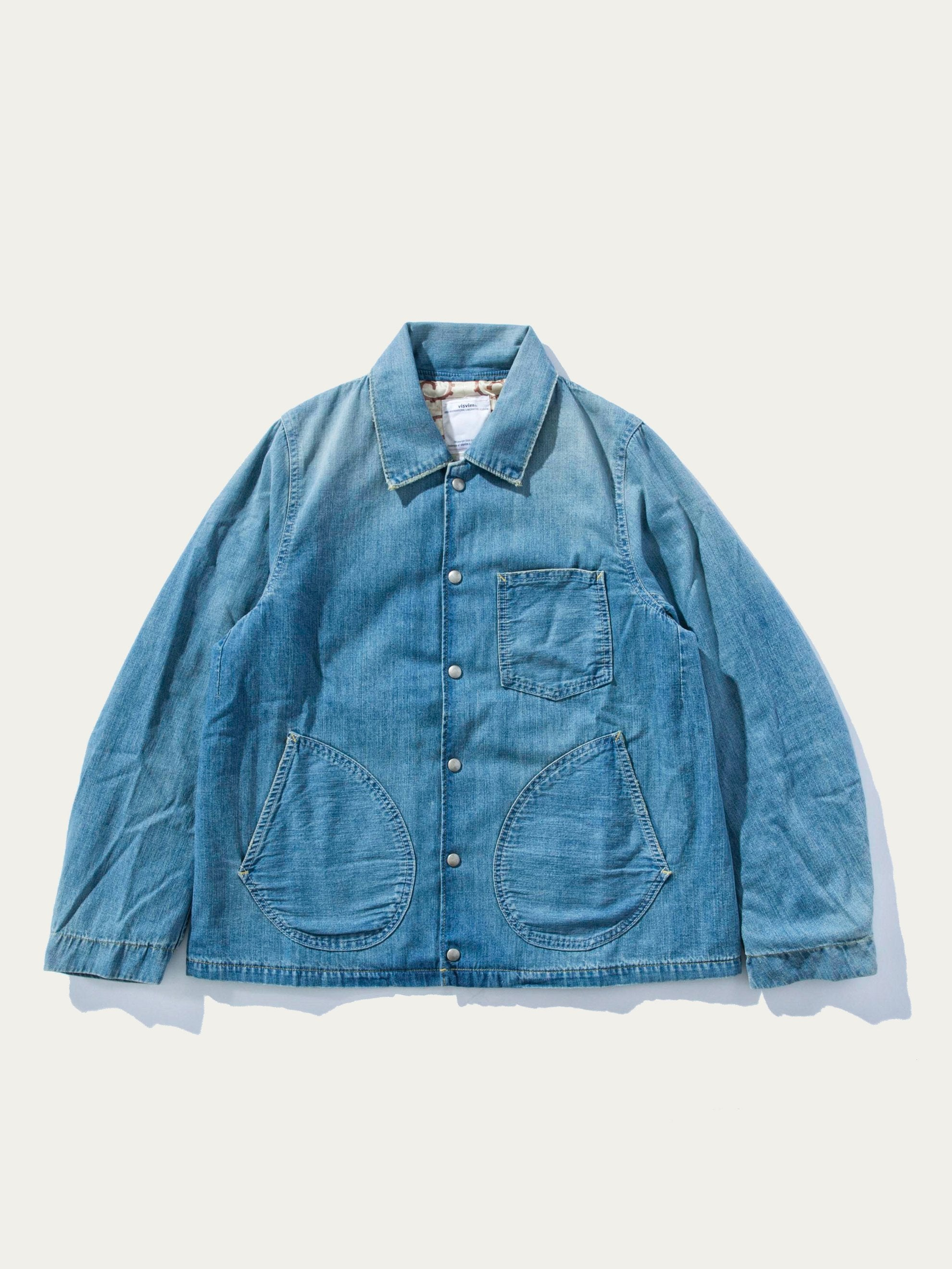 Light Indigo SS Outland Jacket Damaged 1