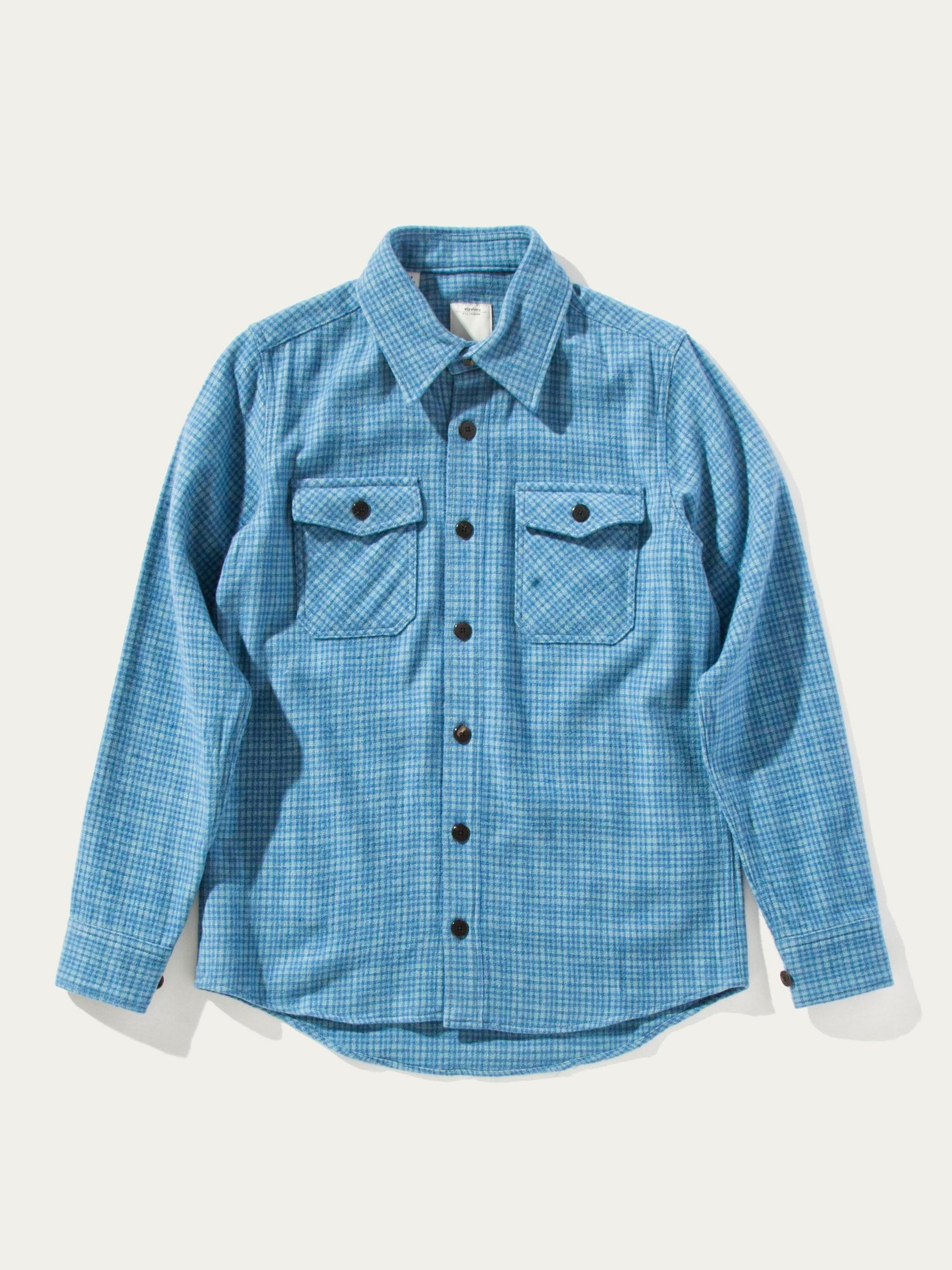 Blue Black Elk Flannel Check (W/LI/SI) 5