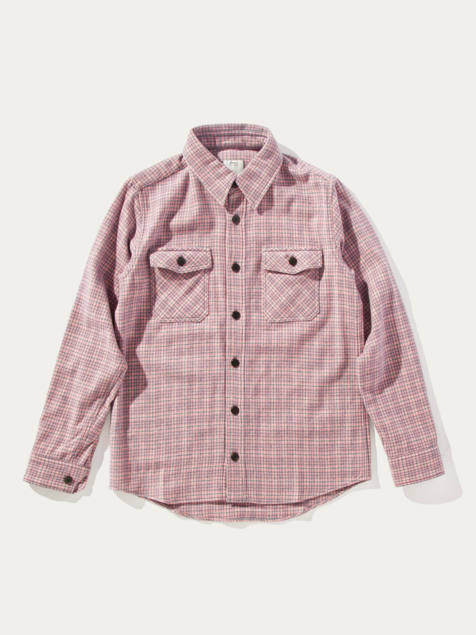 Blue Black Elk Flannel Check (W/LI/SI) 1