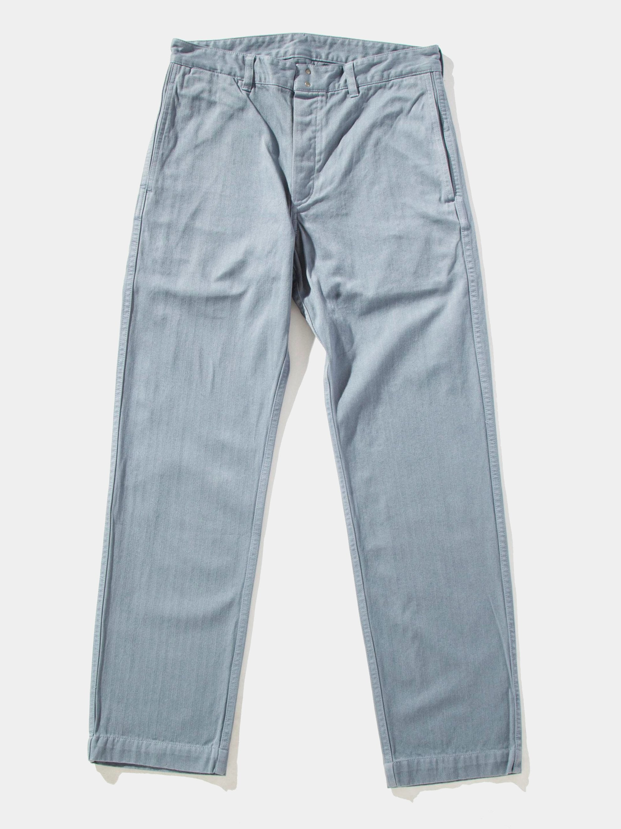 Grey Pastoral Pants Herringbone 1
