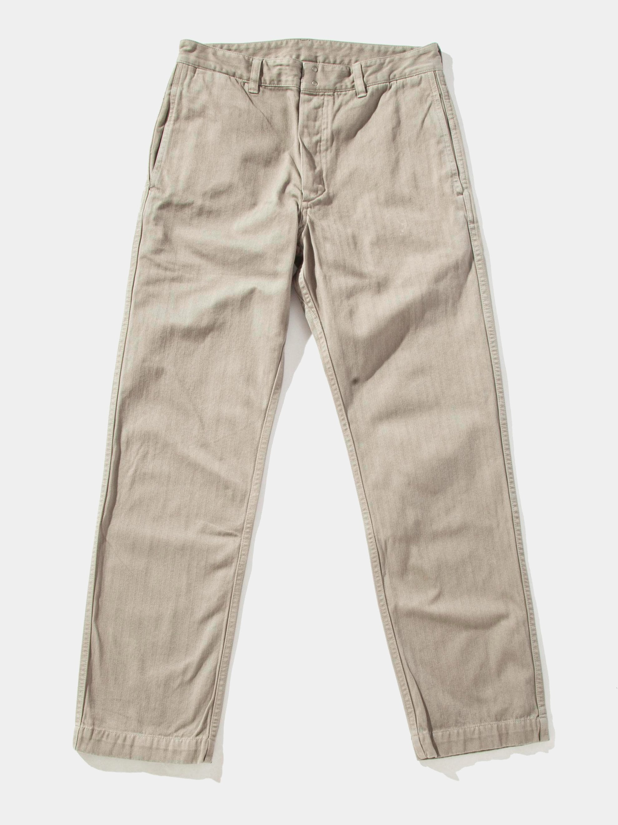 Blue Pastoral Pants Herringbone 14