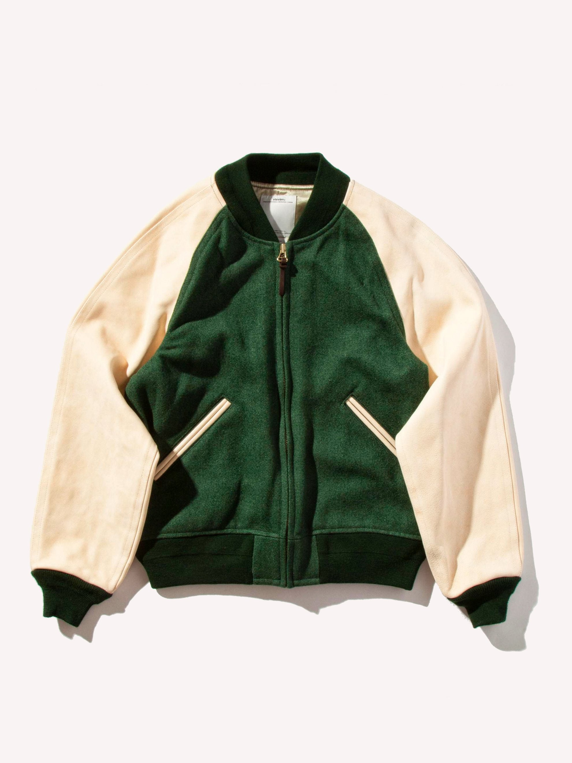 Green Varsity Jacket (Tweed) 1