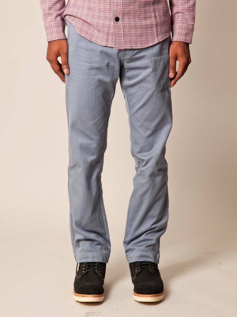 Grey Pastoral Pants Herringbone 213572122542157