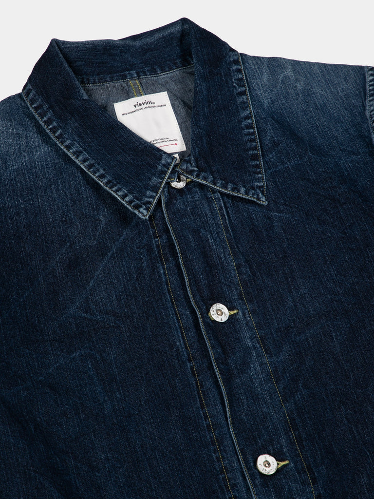 SS Section Gang Coverall Dry Denim14932280180813
