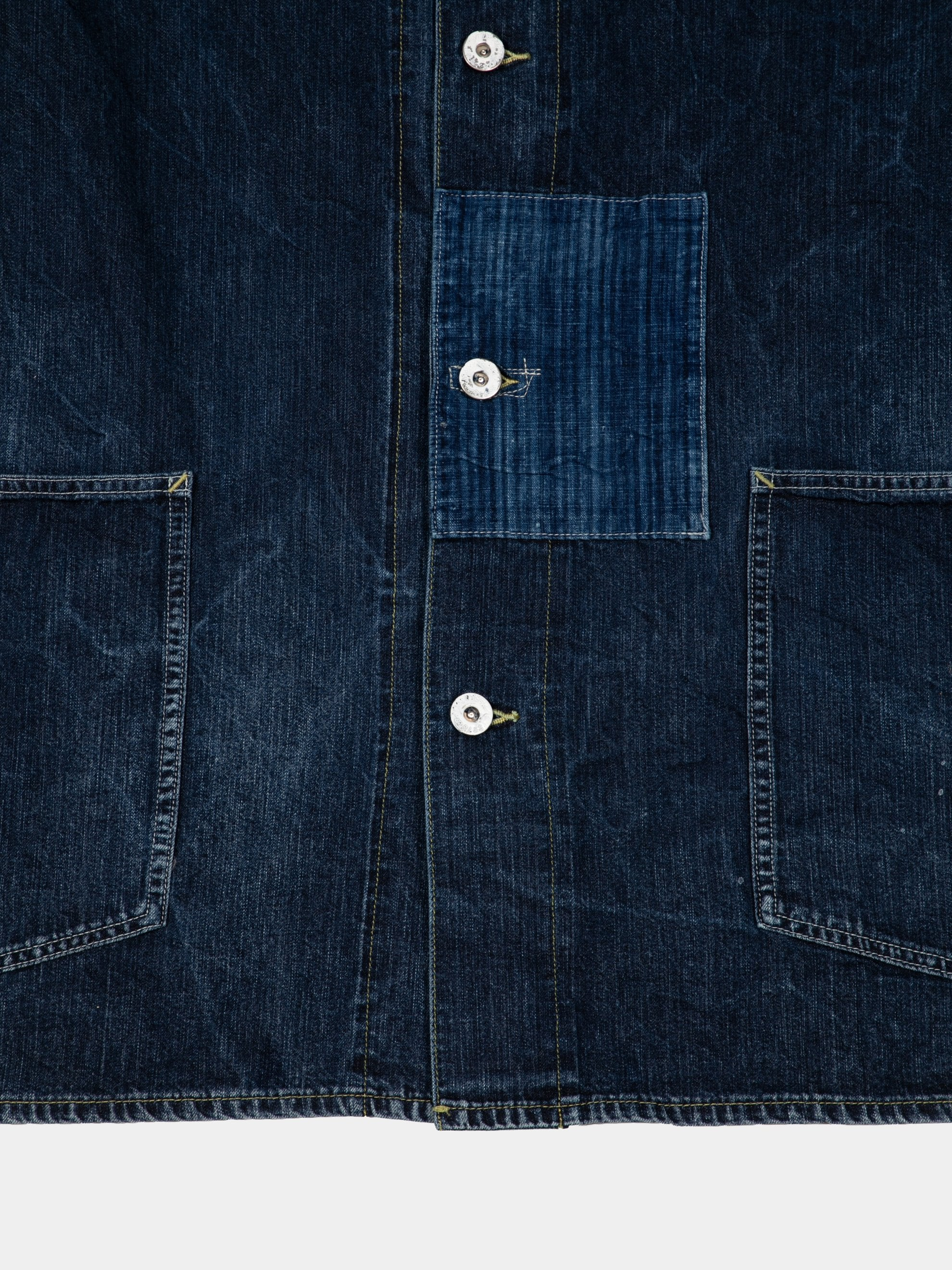 SS Section Gang Coverall Dry Denim