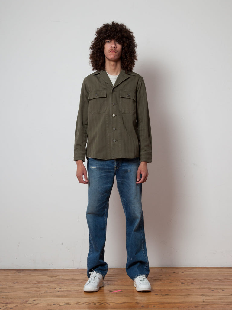 Willard Shirt Jacket Herringbone
