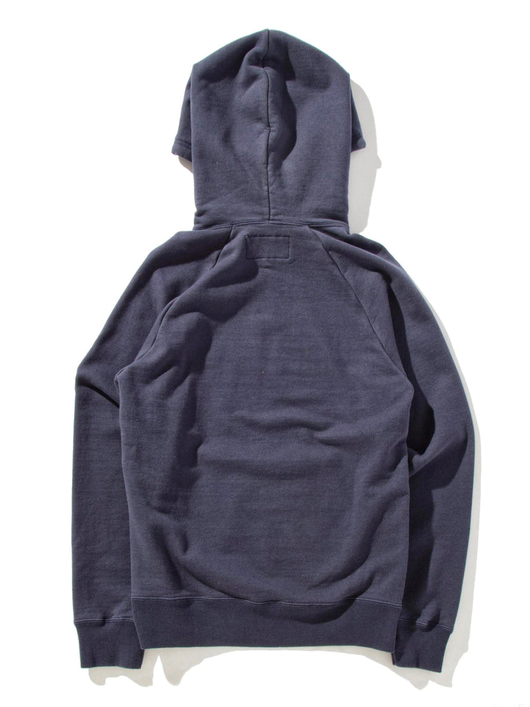Navy Washed Heavy Weight Pullover Hooded Sweatshirt (Type-3) 10485249646601