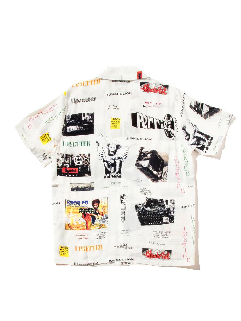 White Lee Perry Hawaiian Shirt 523539581065