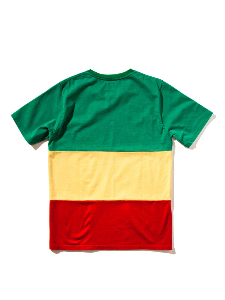 Lee Perry Rasta Striped Crew Neck T-Shirt