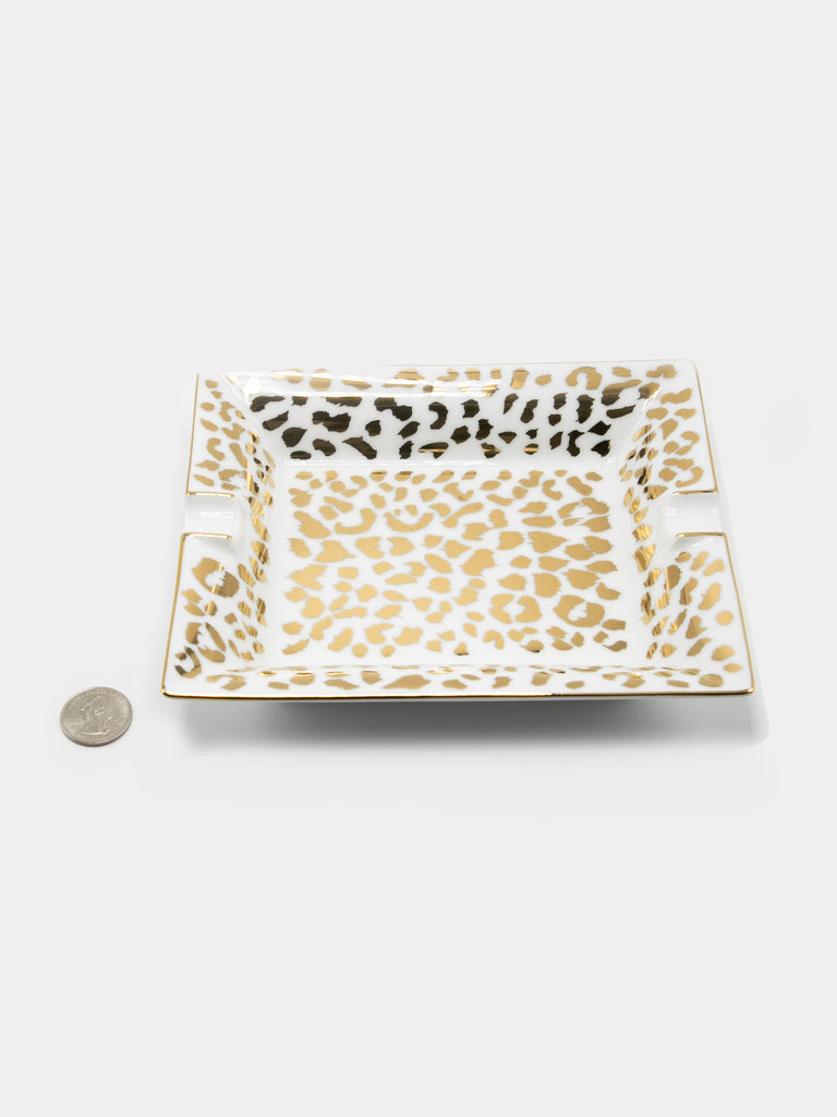 Leopard Ashtray (Type-2)13750227533901