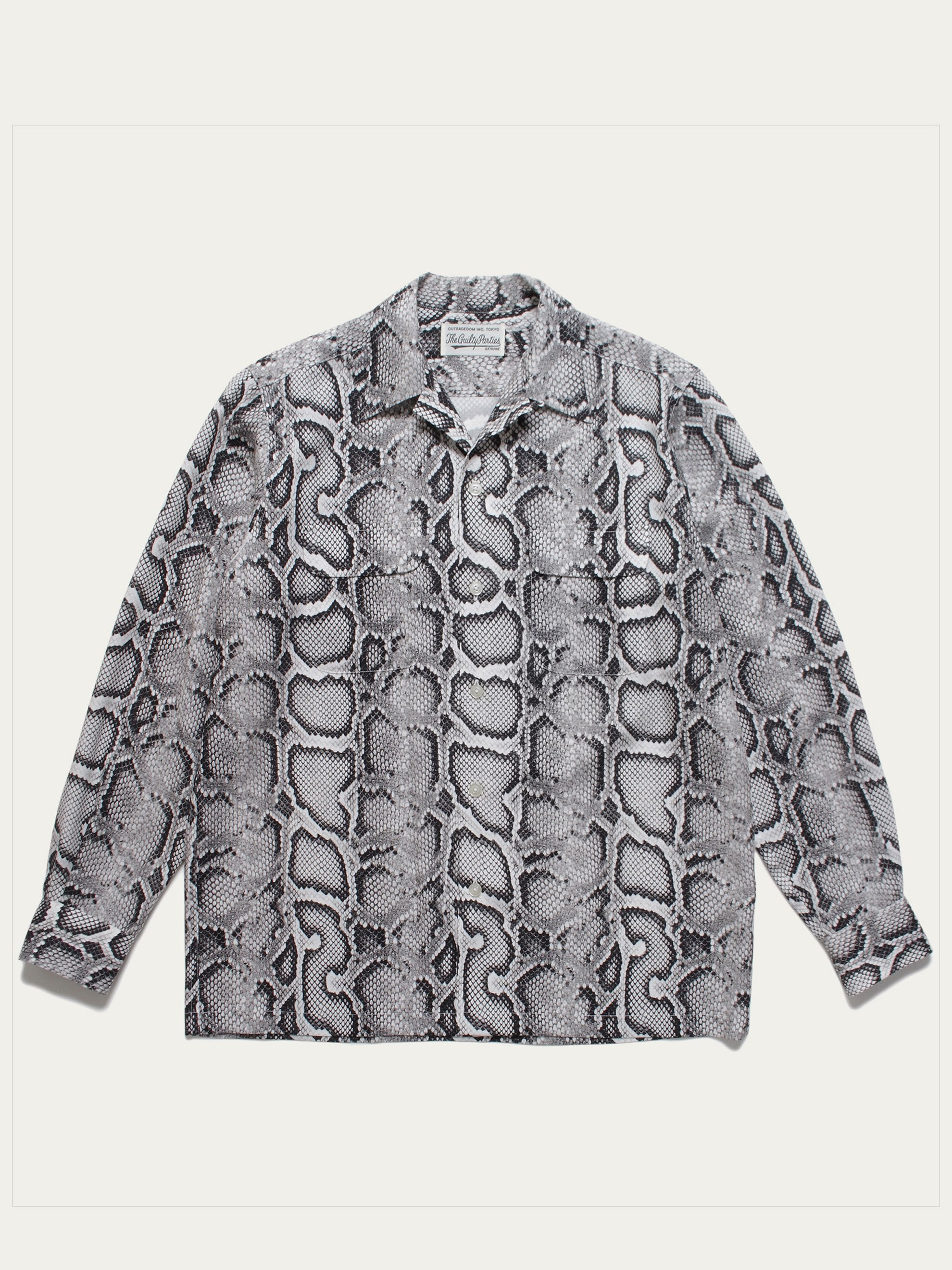 White Hawaiian Shirt L/S (Type-1) 1